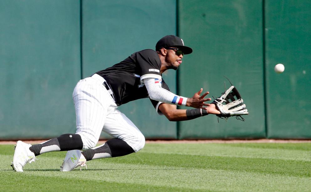 Sox outfielder Eloy Jimenez