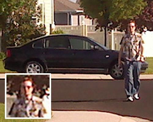Police are looking to question this unidentified man, who is accused of following and harassing a woman for several miles, from Lehi to Cedar Hills, on her way to visit family Thursday evening. The woman said the man got out of his car and approached and