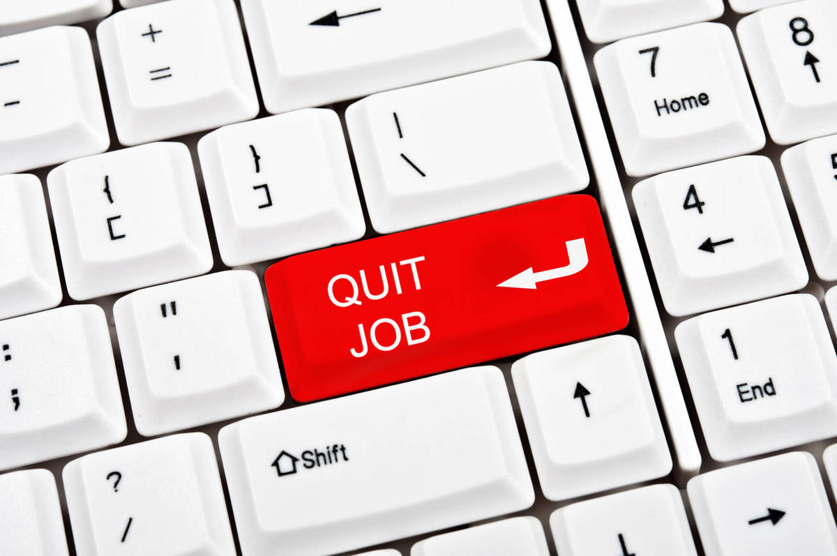 """While the percentage of overall turnover in business has remained relatively steady at approximately 1.69 percent per month over the past decade, the number of voluntary """"quits"""" is continuing to grow."""