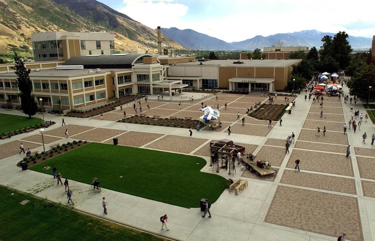 The BYU Quad