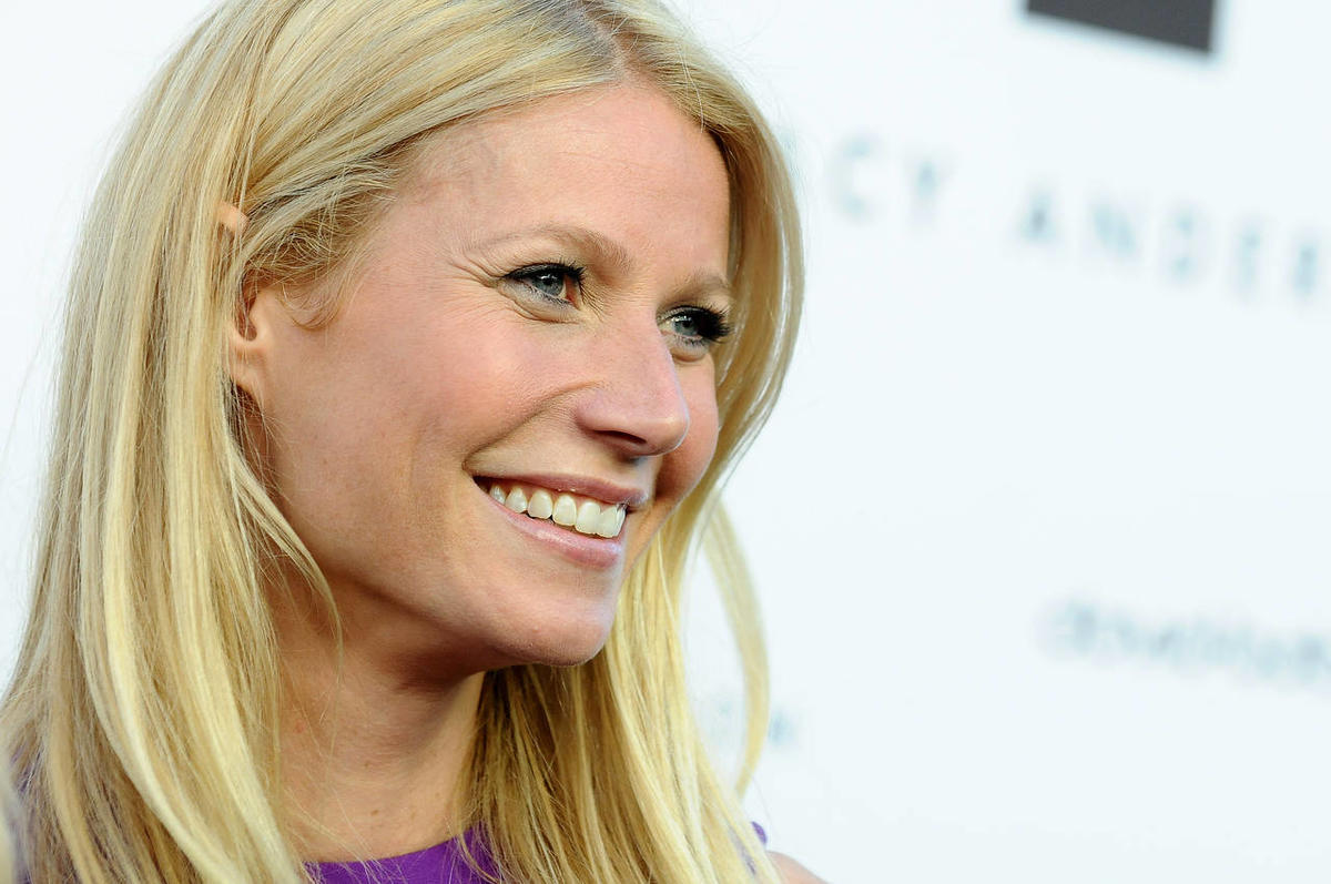 Gwyneth Paltrow arrives at the opening of the Tracy Anderson flagship studio on Thursday, April 4, 2013 in Los Angeles. Recent metaphorical comments by Paltrow have been criticized by the media.