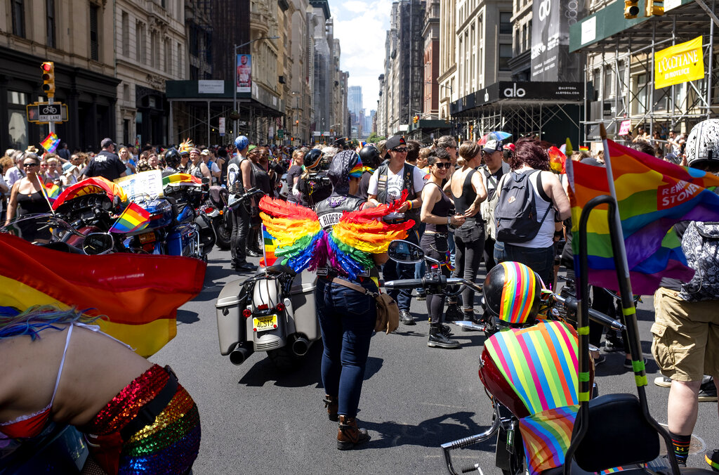 LGBTQ Pride Parade in New York City
