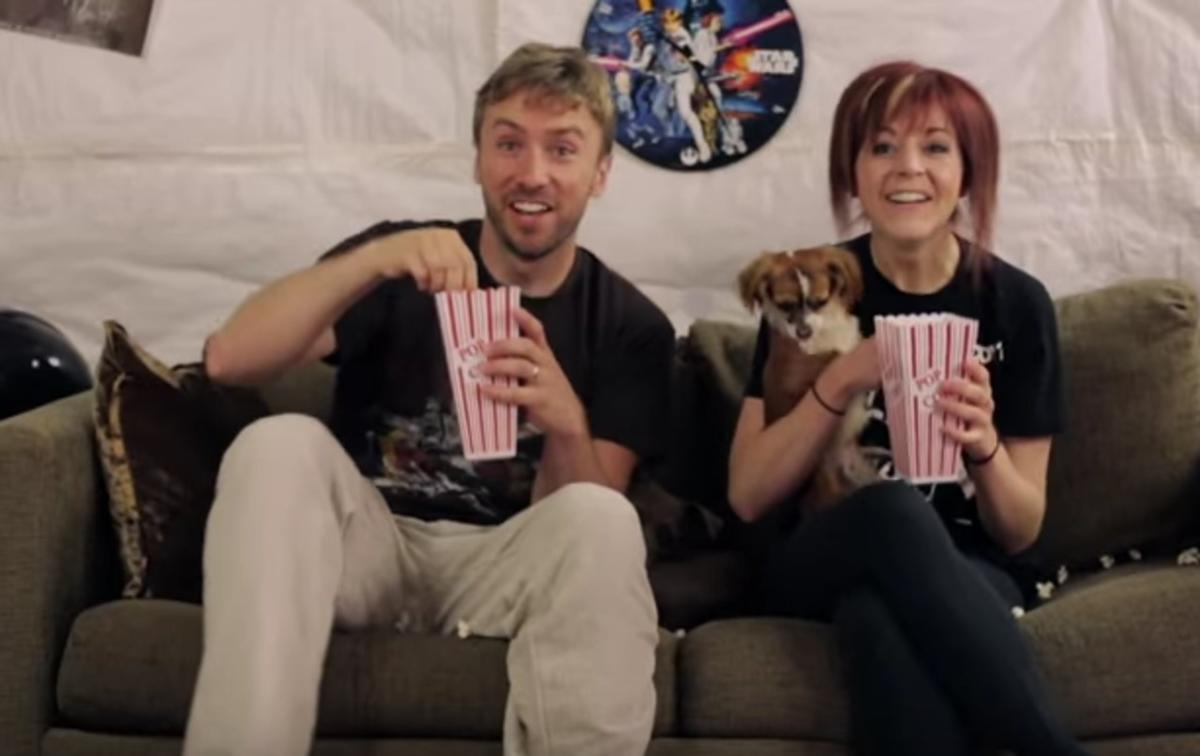 Lindsey Stirling and Peter Hollens collaborated in a Star Wars medley in 2013.