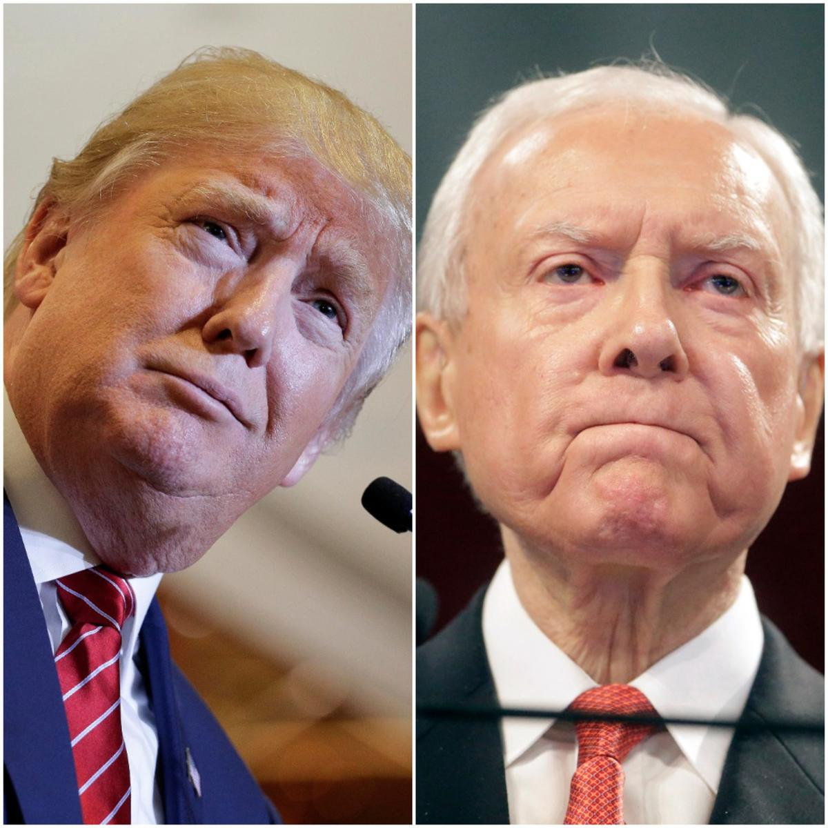 Sen. Orrin Hatch, R-Utah, said he will do what he can to help GOP presidential frontrunner Donald Trump's campaign.