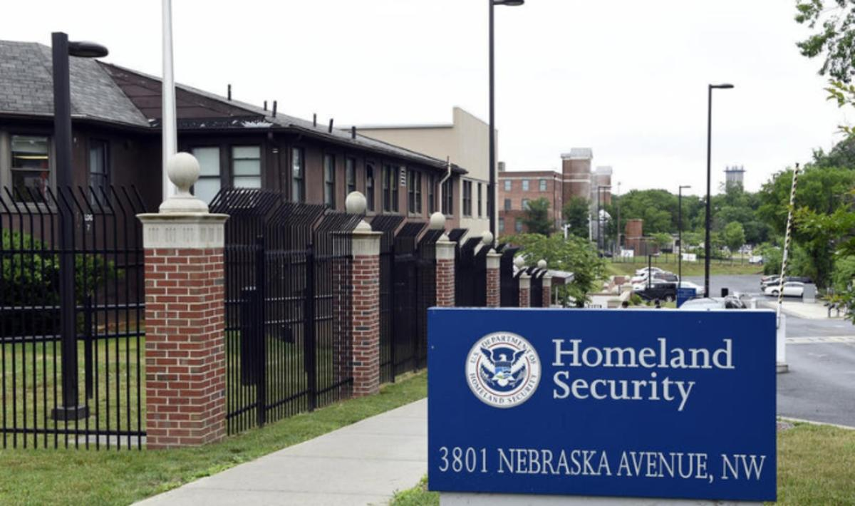In this June 5, 2015 file photo, a view of the Homeland Security Department headquarters in Washington.