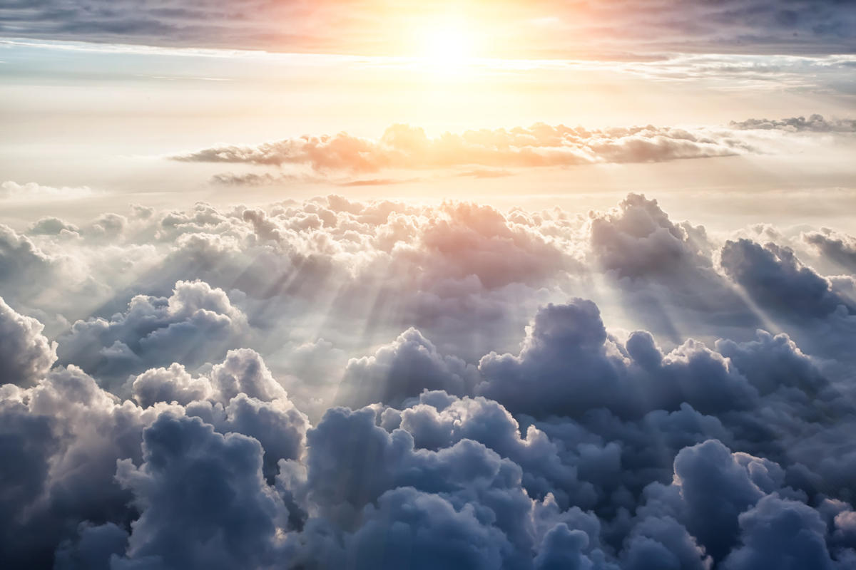 Many people have reported seeing a bright light in near-death experiences.