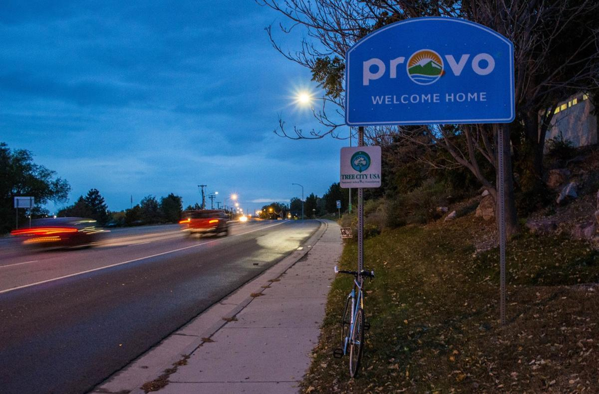 A small sign in Provo.