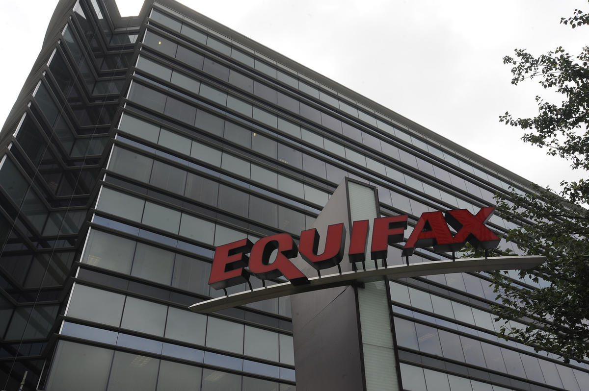 Equifax Inc. is seen, Saturday, July 21, 2012, in Atlanta. Equifax Inc. is a consumer credit reporting agency in the United States. Founded in 1899, Equifax is the oldest of the three agencies and gathers and maintains information on millions of credit ho