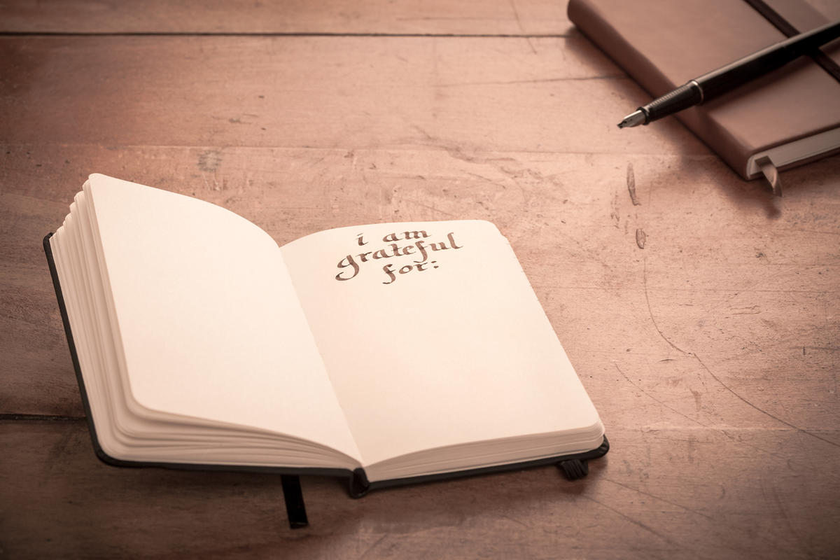 Keeping a gratitude journal is one of the six tips Erin Stewart shares for finding gratitude in contentment.