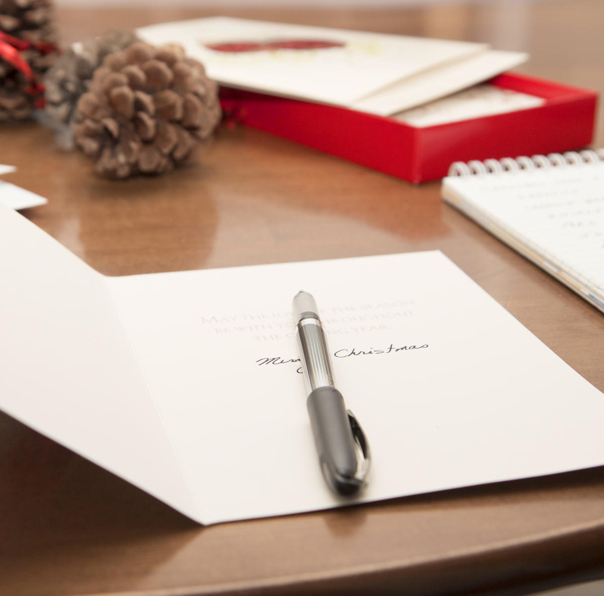 Every year, Amy Choate-Nielsen reflects on what she would write if she mailed a Christmas card to her friends and family. Maybe next year, she'll follow through.