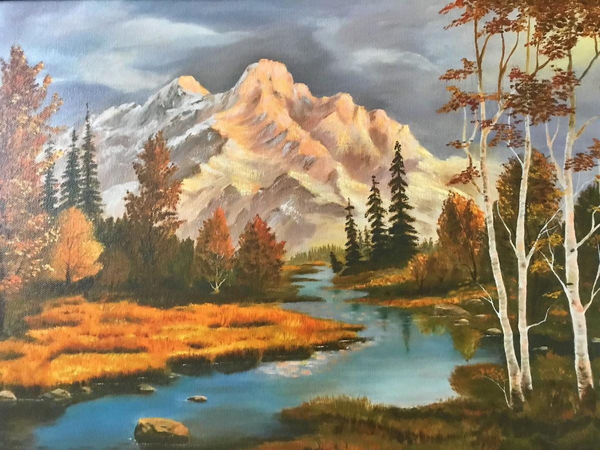 Tiffany Gee Lewis' grandmother, Dorothy Gee, learned to paint later in life. Her artwork is among the family's most cherished heirlooms.