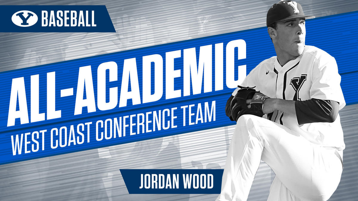 Pitcher Jordan Wood was named to the West Coast Conference All-Academic Baseball Team on Wednesday.