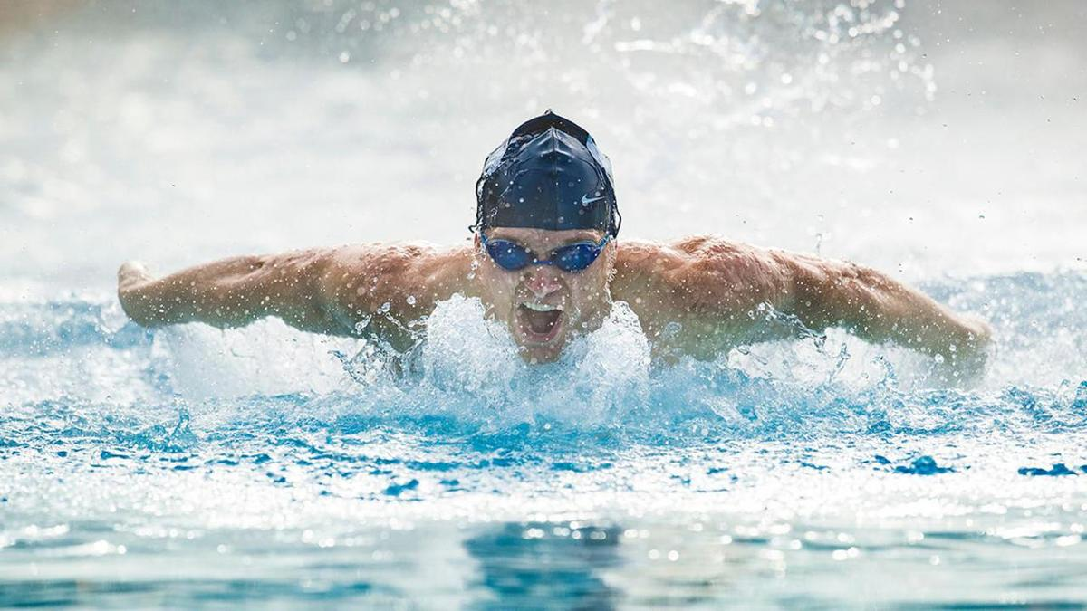Kent Fellows competes for BYU. He earns a Postgraduate Scholarship from the NCAA as he heads to medical school.