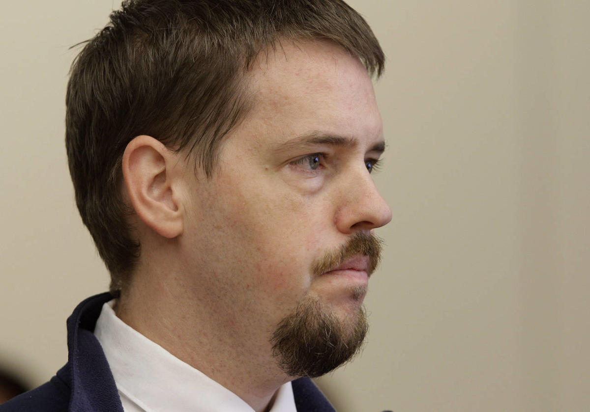 File - Josh Powell listens during a court hearing regarding the custody of his two sons, Wednesday, Sept. 28, 2011