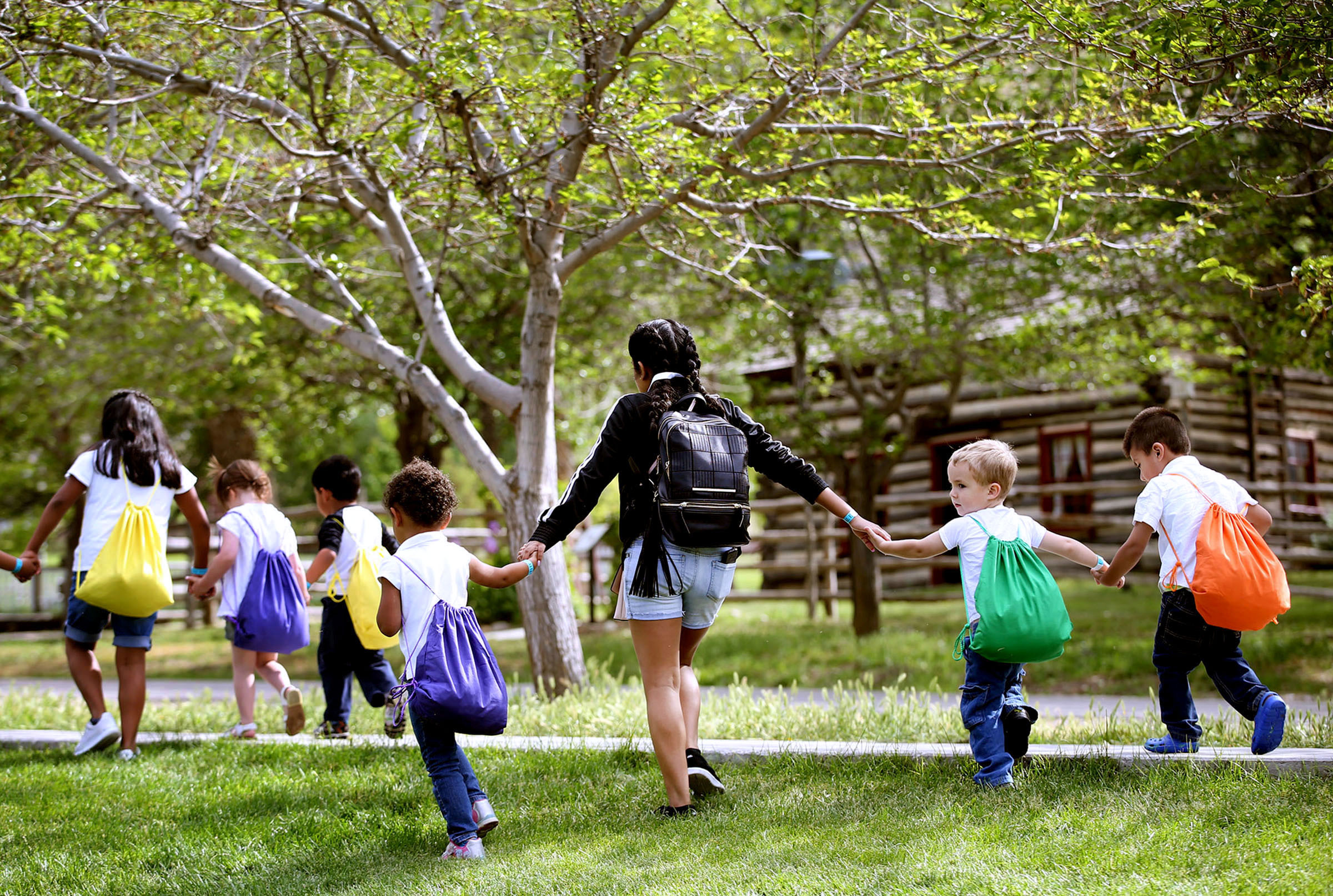 Children's Service Society of Utah hosts Provider Appreciation Day at This is the Place State Park in Salt Lake City on Thursday, May 25, 2017. There are potentially more than 152,000 young children who need daily care in Utah, yet the state has only 41,1