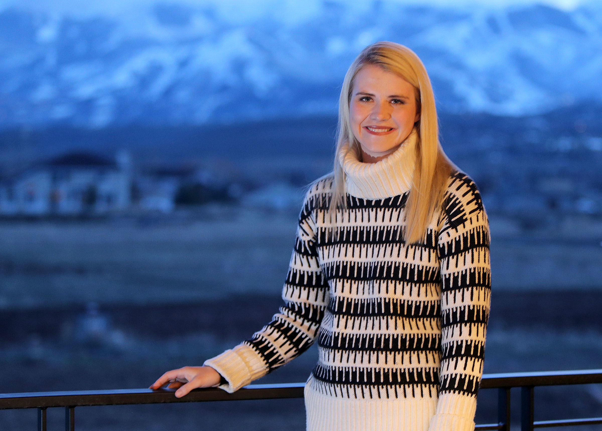 Elizabeth Smart poses for a portrait at home in Park City on Saturday, March 24, 2018.