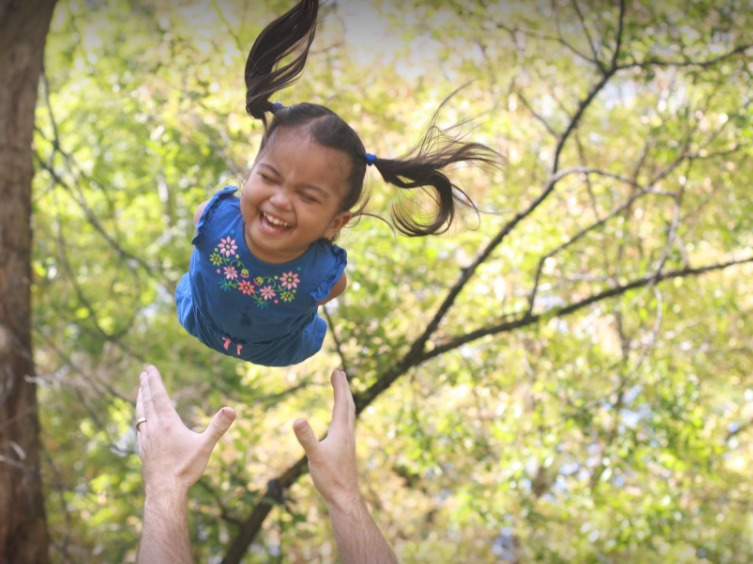 Maria Stewart, who was born without limbs, helps her family stay optimistic while her older brother fights acute meyloid leukemia.