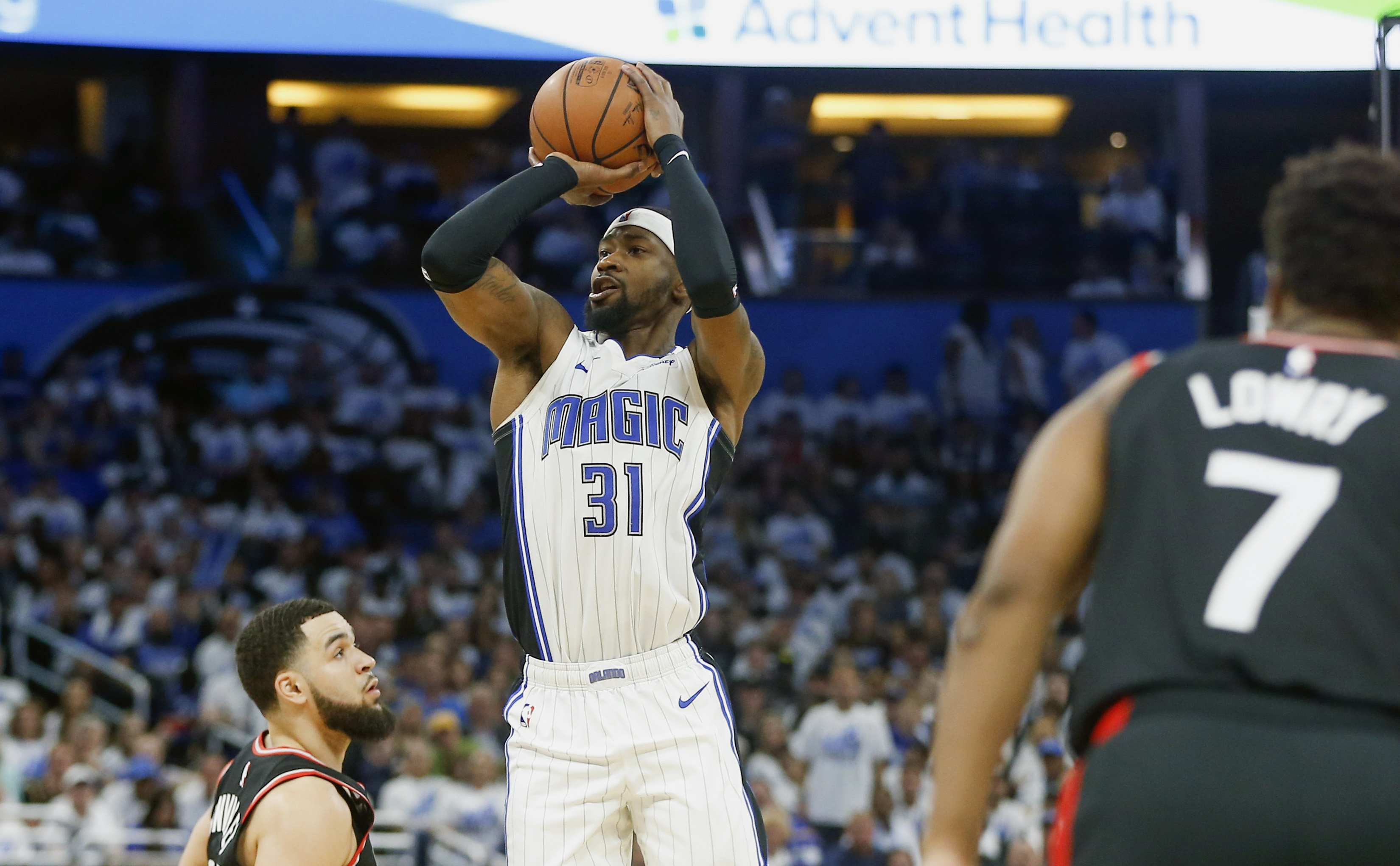 NBA: Playoffs-Toronto Raptors at Orlando Magic