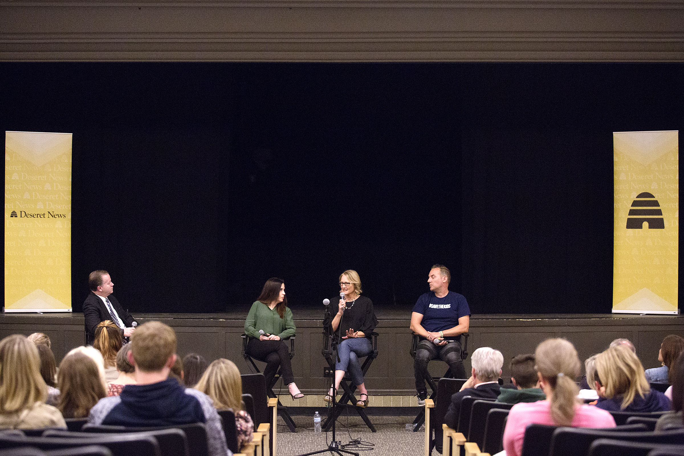 FILE - Deseret News hosted a film screening of 'Angst' at the Jim Santy Auditorium in Park City, Utah, Tuesday, May 29, 2018.