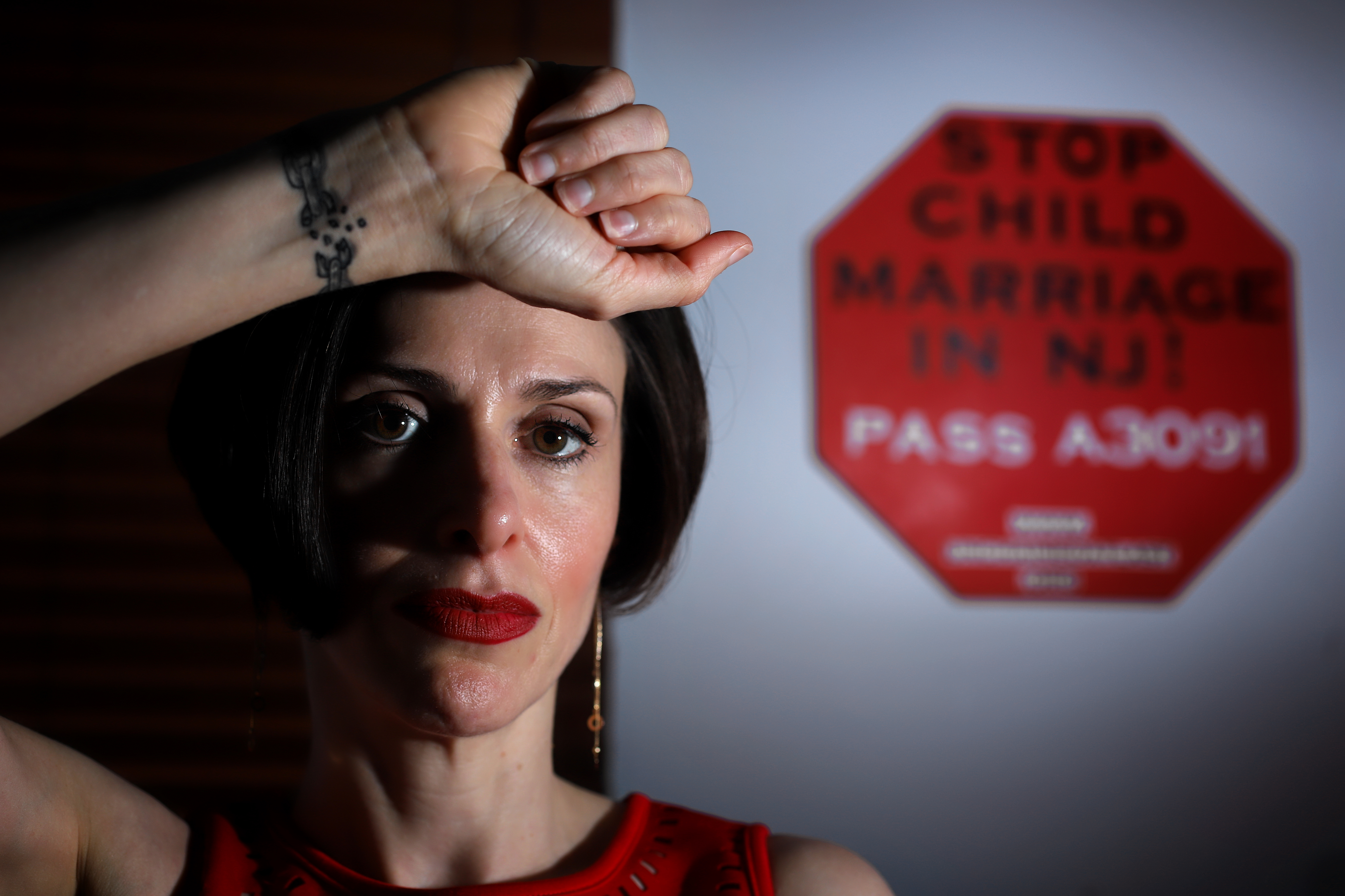 Fraidy Reiss is the founder and Executive Director of Unchained at Last, an organization dedicated to helping people being forced into marriage before the age of 18, is pictured in her office Thursday, July 5, 2018. They are also a lobbying group trying t