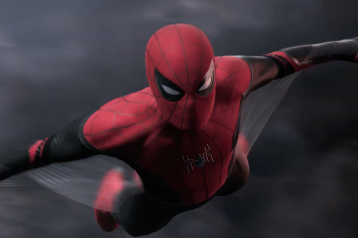 """Spider-Man's new upgraded suit appears in a TV spot for """"Spider-Man: Far From Home."""""""