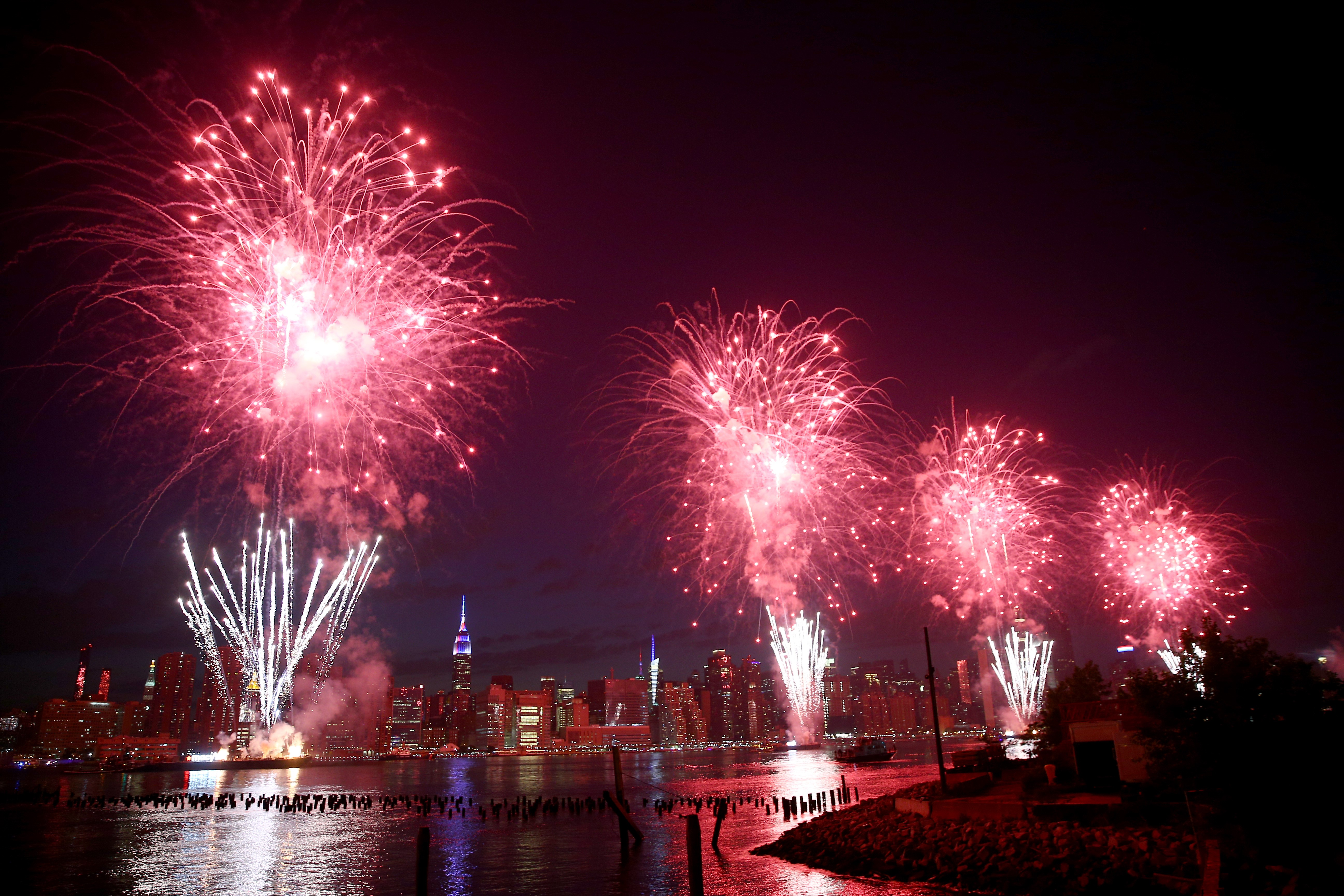 Independence Day Fireworks in New York
