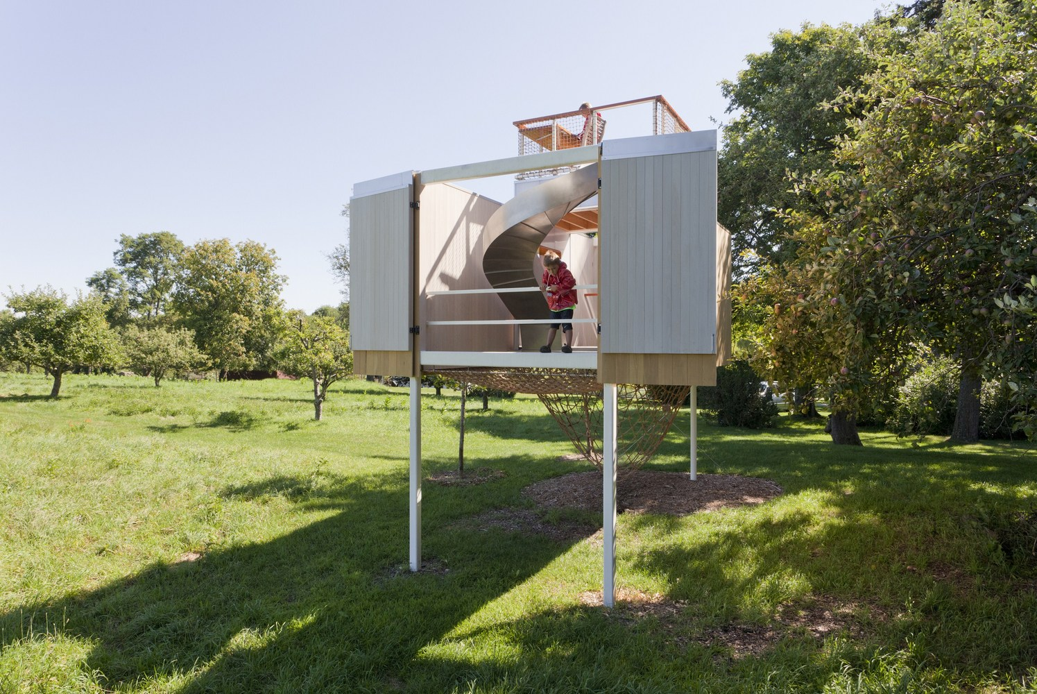 Playful modern treehouse is all about the details