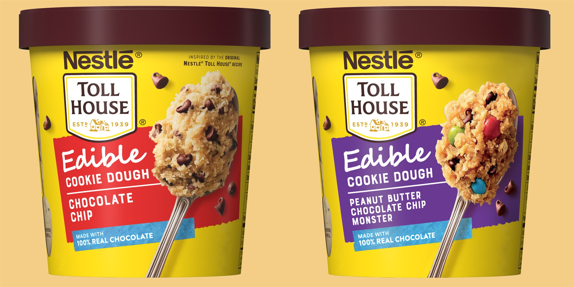 Toll House Unleashes Raw Cookie Dough Pints Made Just for Eating