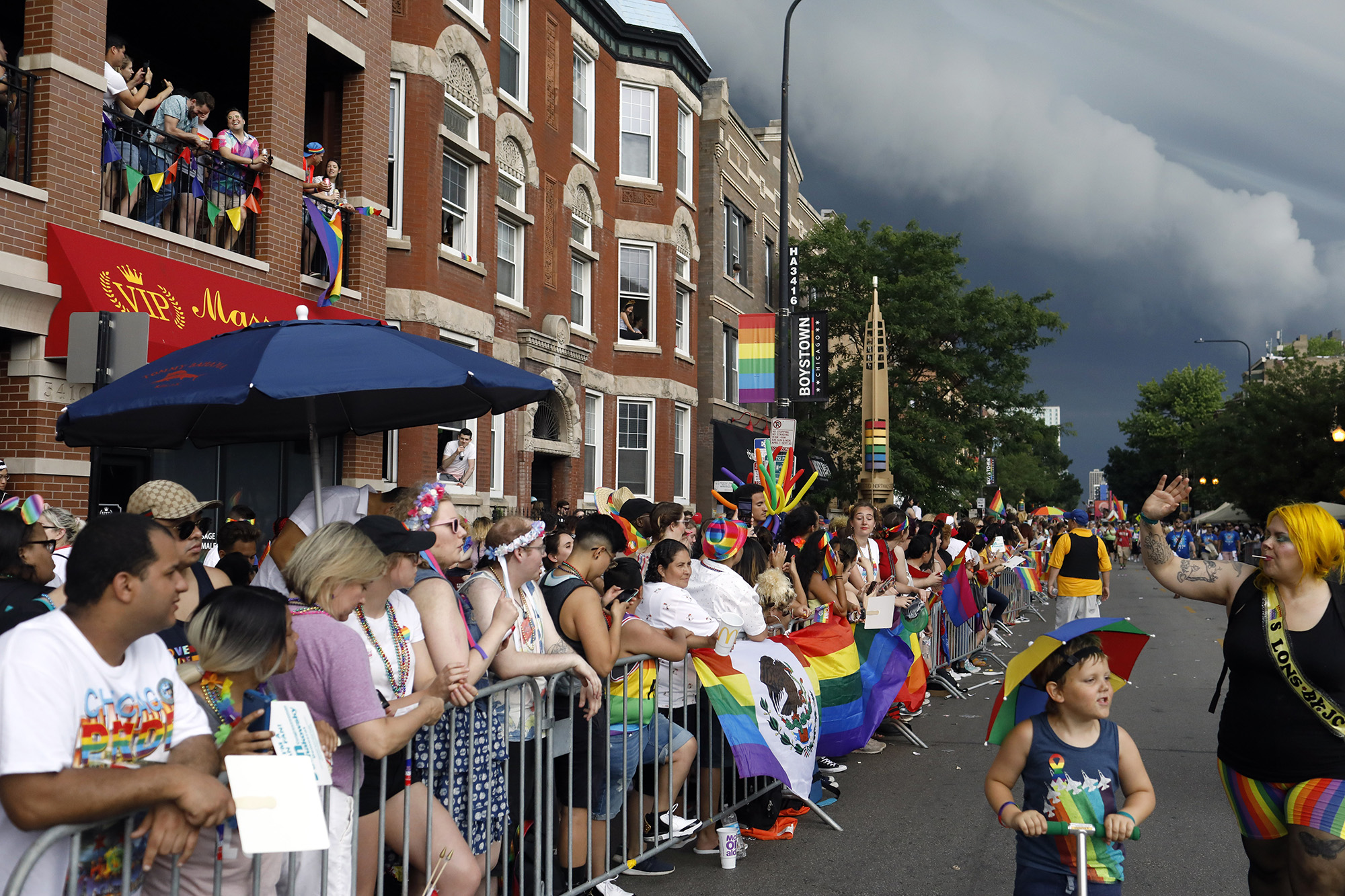 The best photos from Sunday's weather-shortened Chicago Pride Parade
