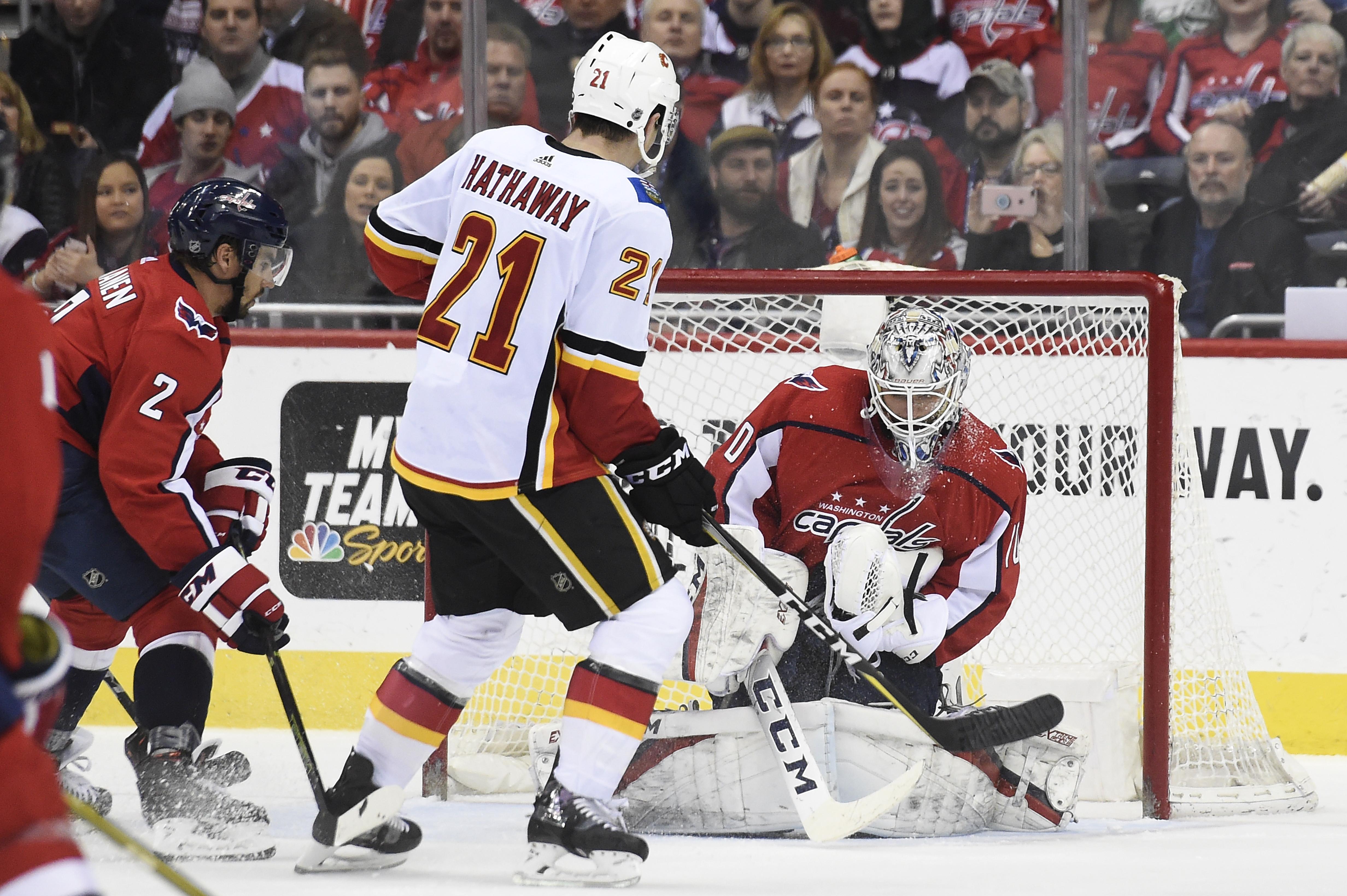 Calgary Flames v Washington Capitals