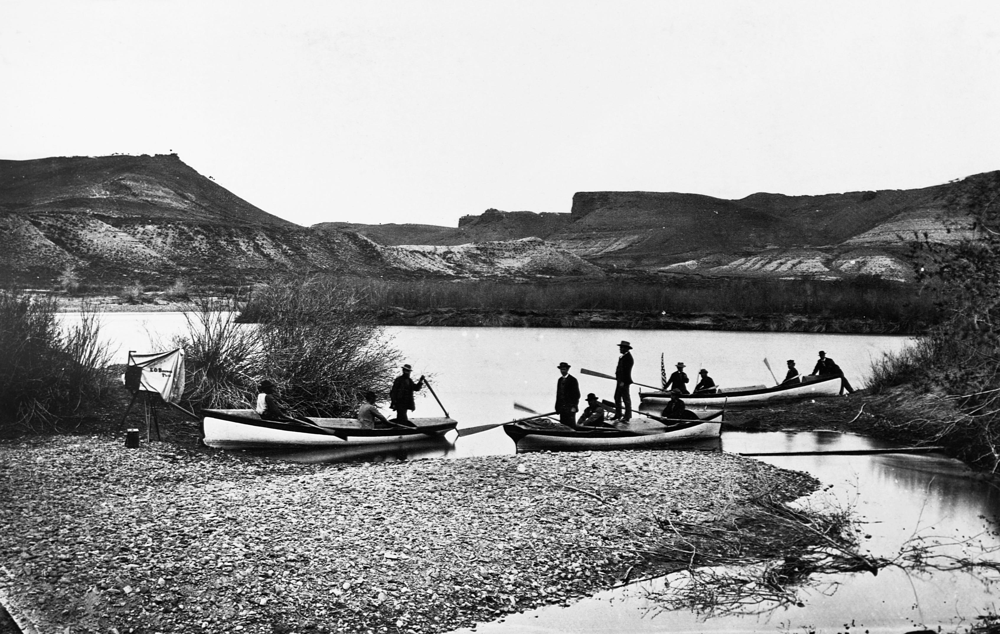 Powell Survey of 1871 Begins