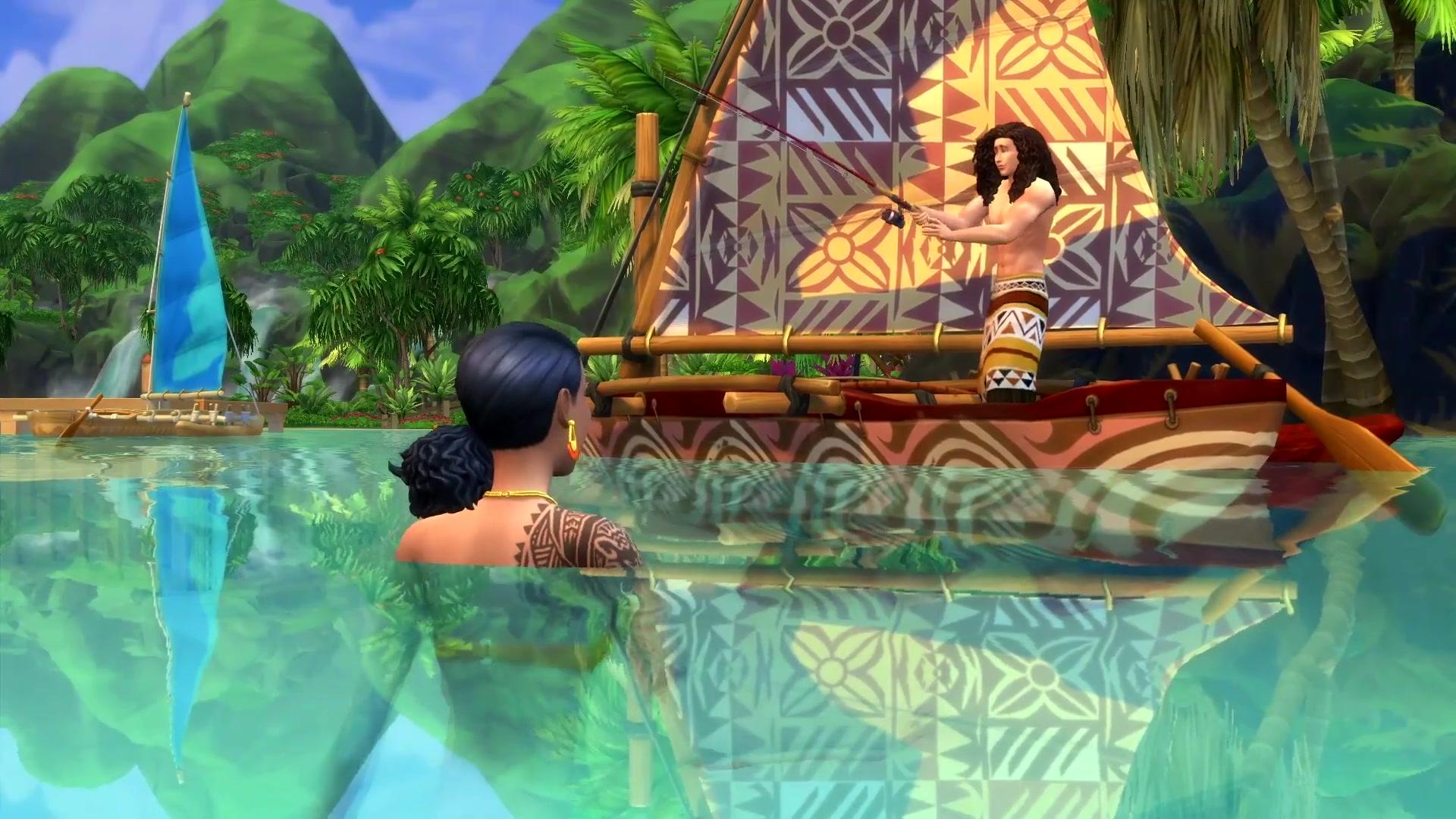 How The Sims 4's Island Living team built secret mermaids and better