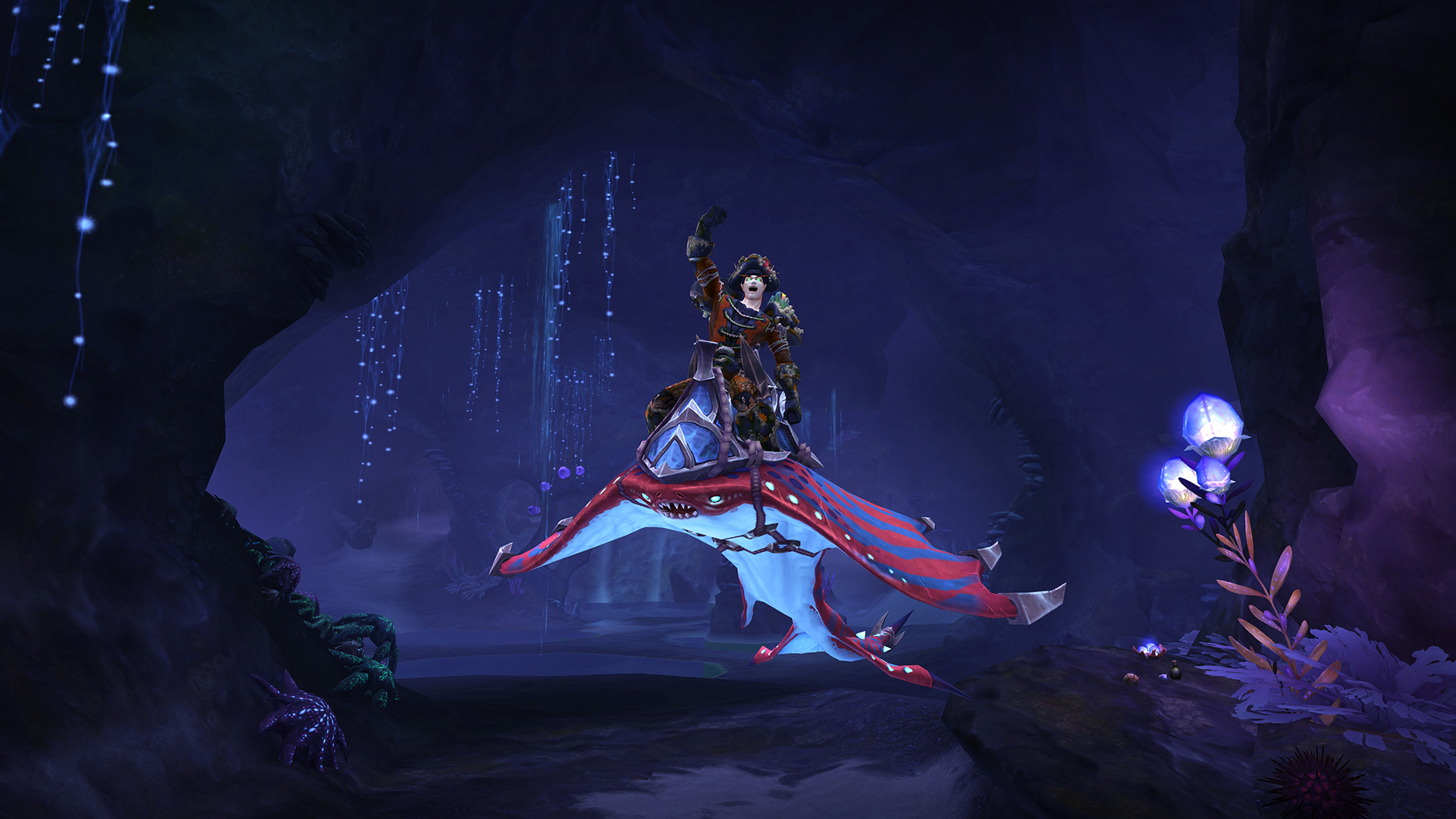 World of Warcraft's Eternal Palace raid starts with a water ride