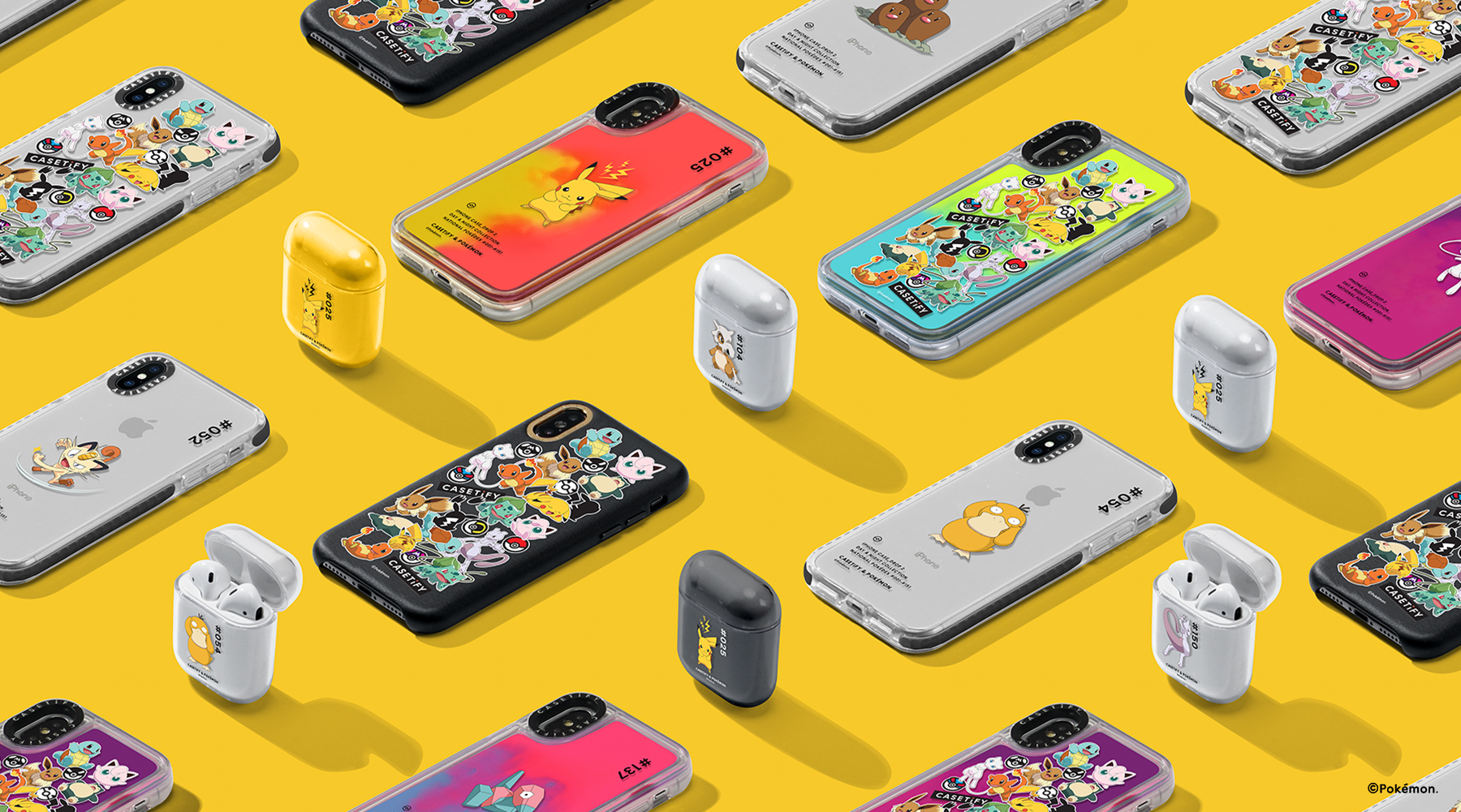All 151 original Pokémon get their own phone case designs in Casetify's second drop