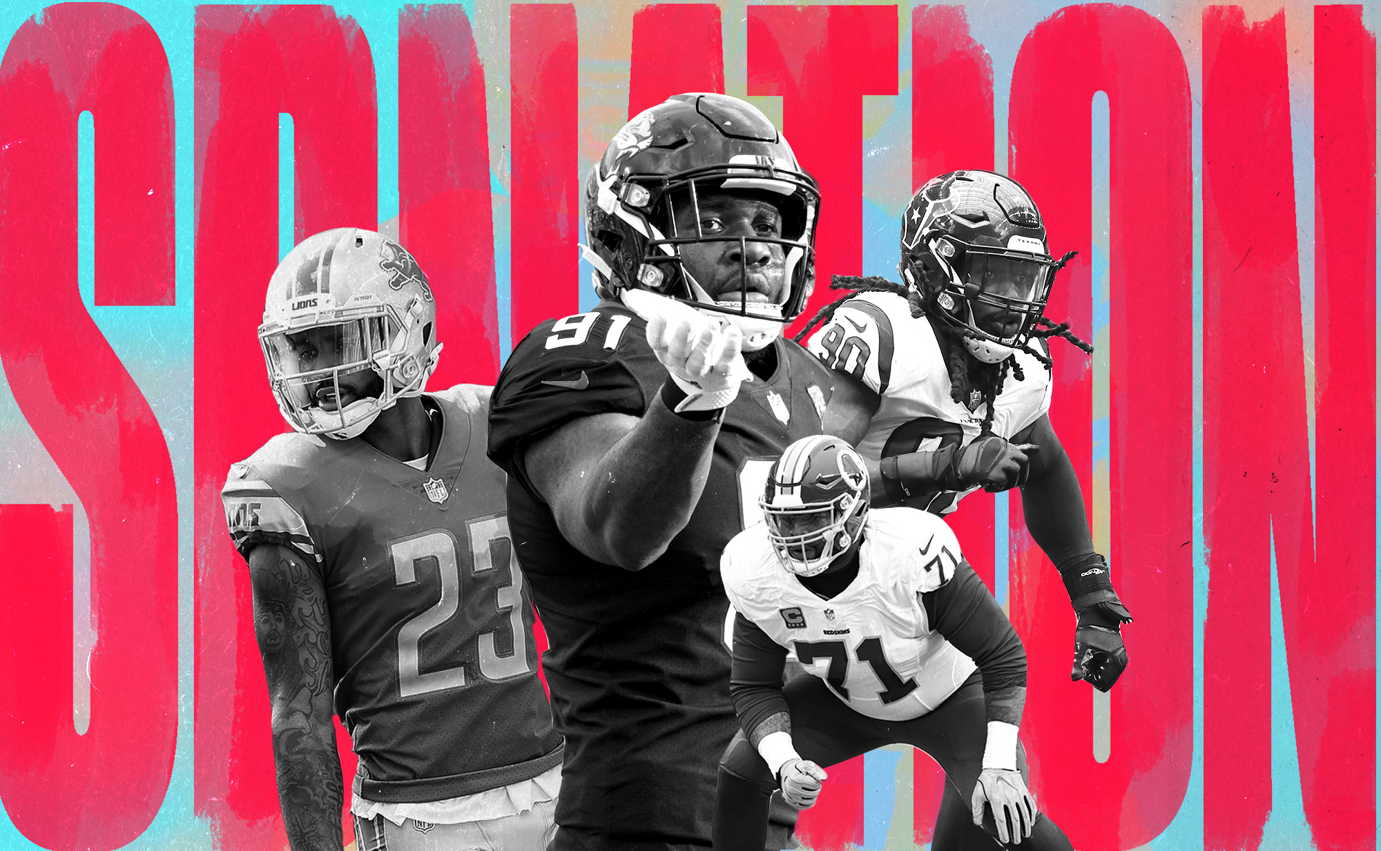 Which NFL players held out in 2019, and why?