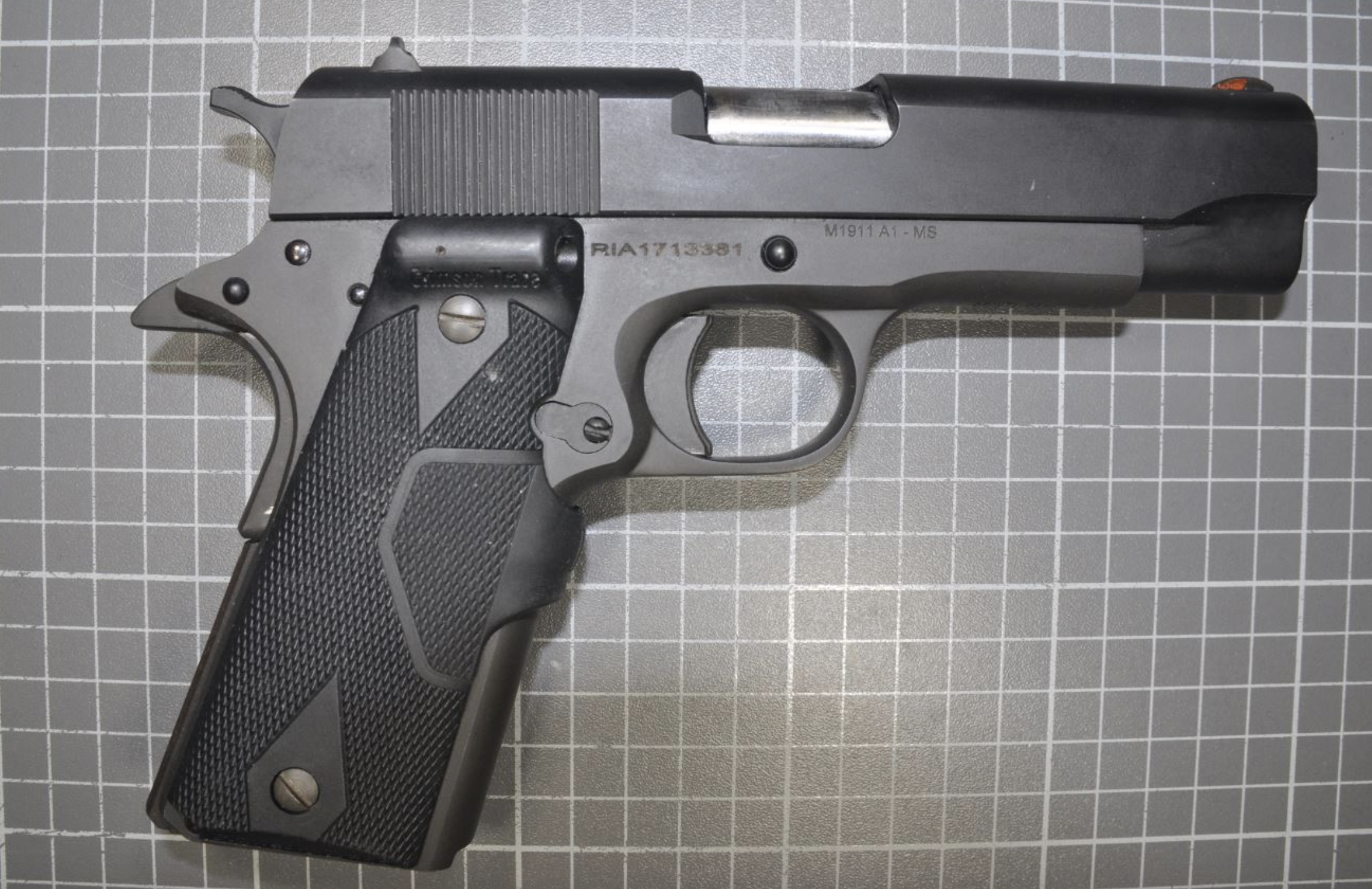 A man is facing gun charges after detectives arrested him on an outstanding warrant June 28, 2019, in Evanston.