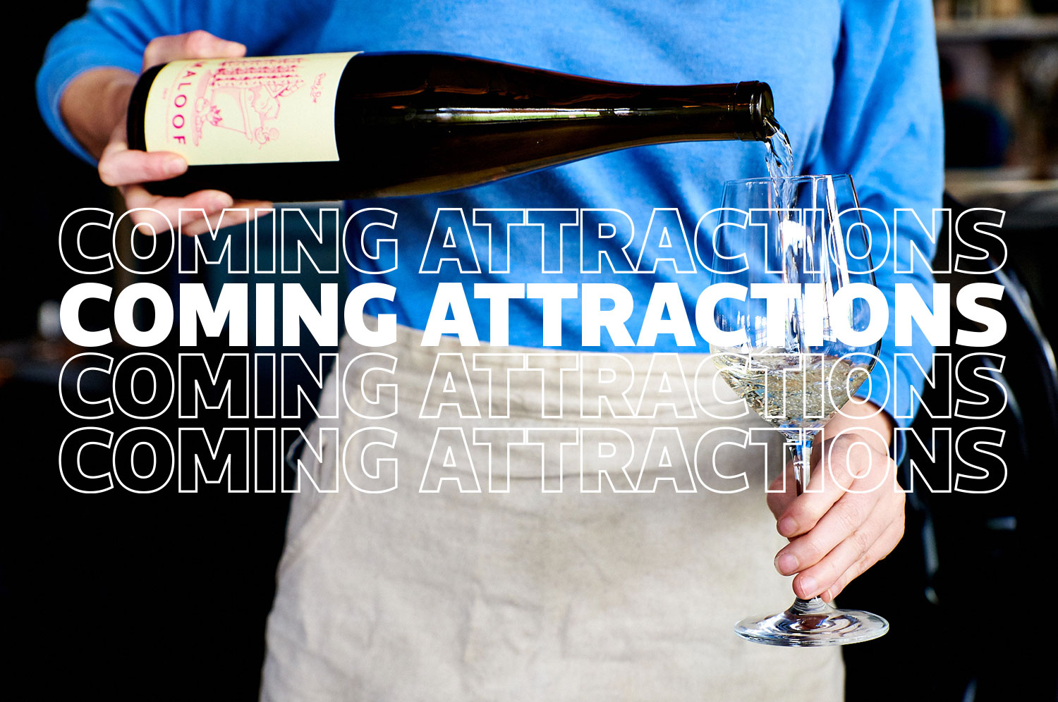 coming attractions - wine bar