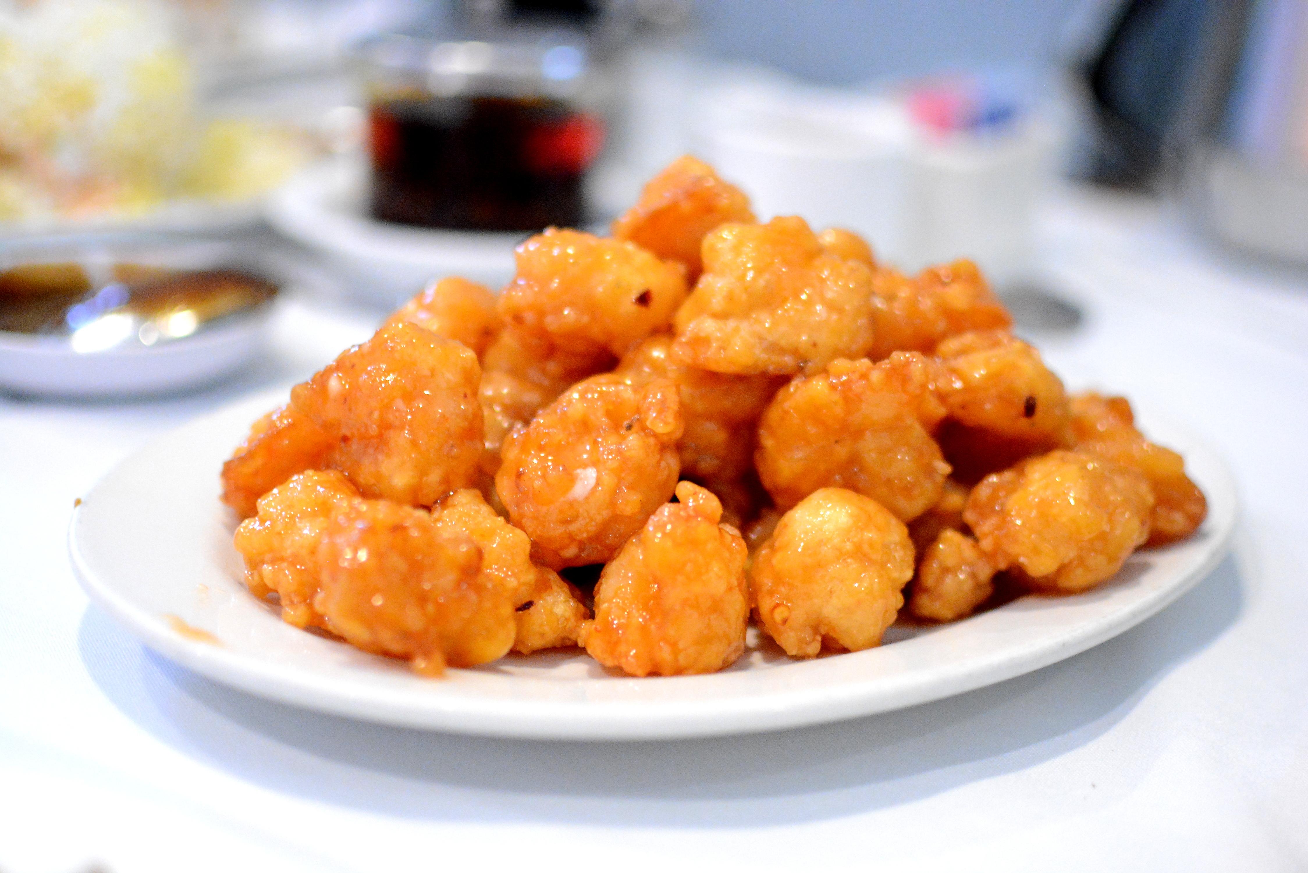 Slippery shrimp at Yang Chow