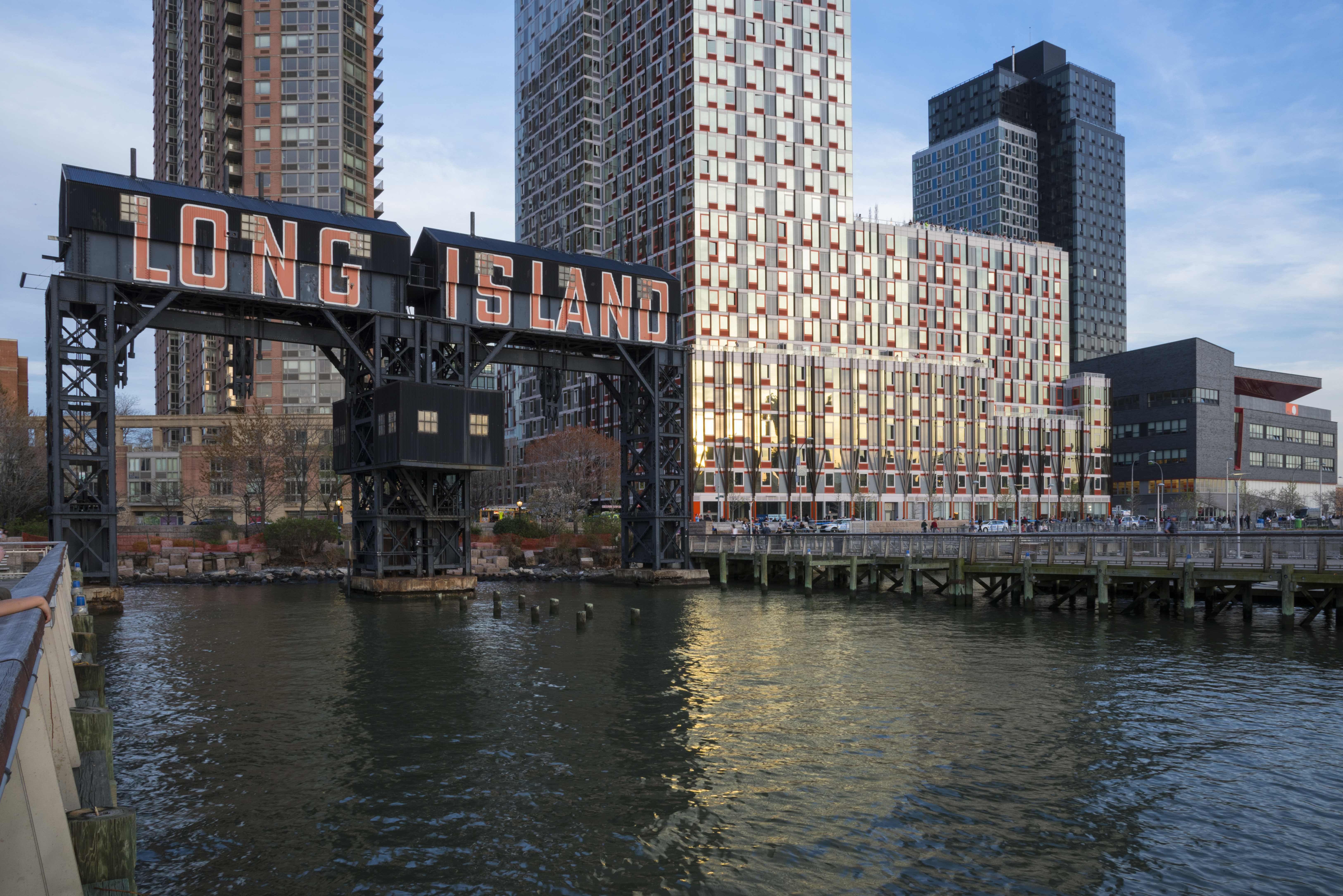 Image of Long Island City's waterfront.