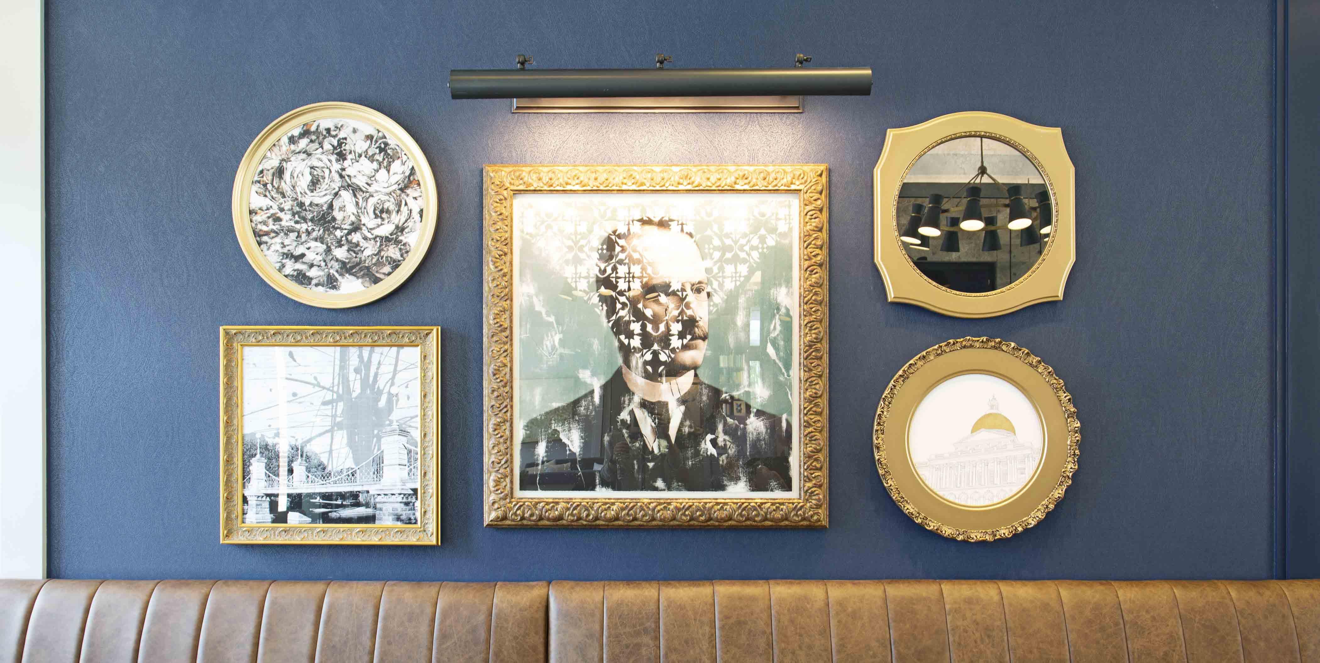 Wall art at Peregrine