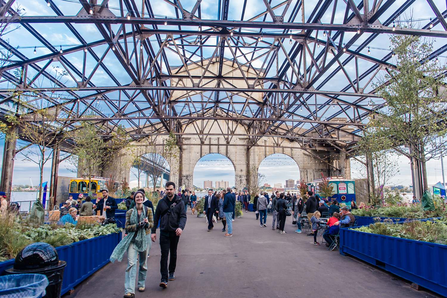 A Giant Food Market Is Popping Up at Cherry Street Pier This Summer
