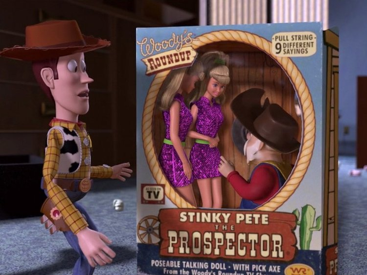 """Pixar has removed a Hollywood """"casting couch"""" joke from Toy Story 2"""