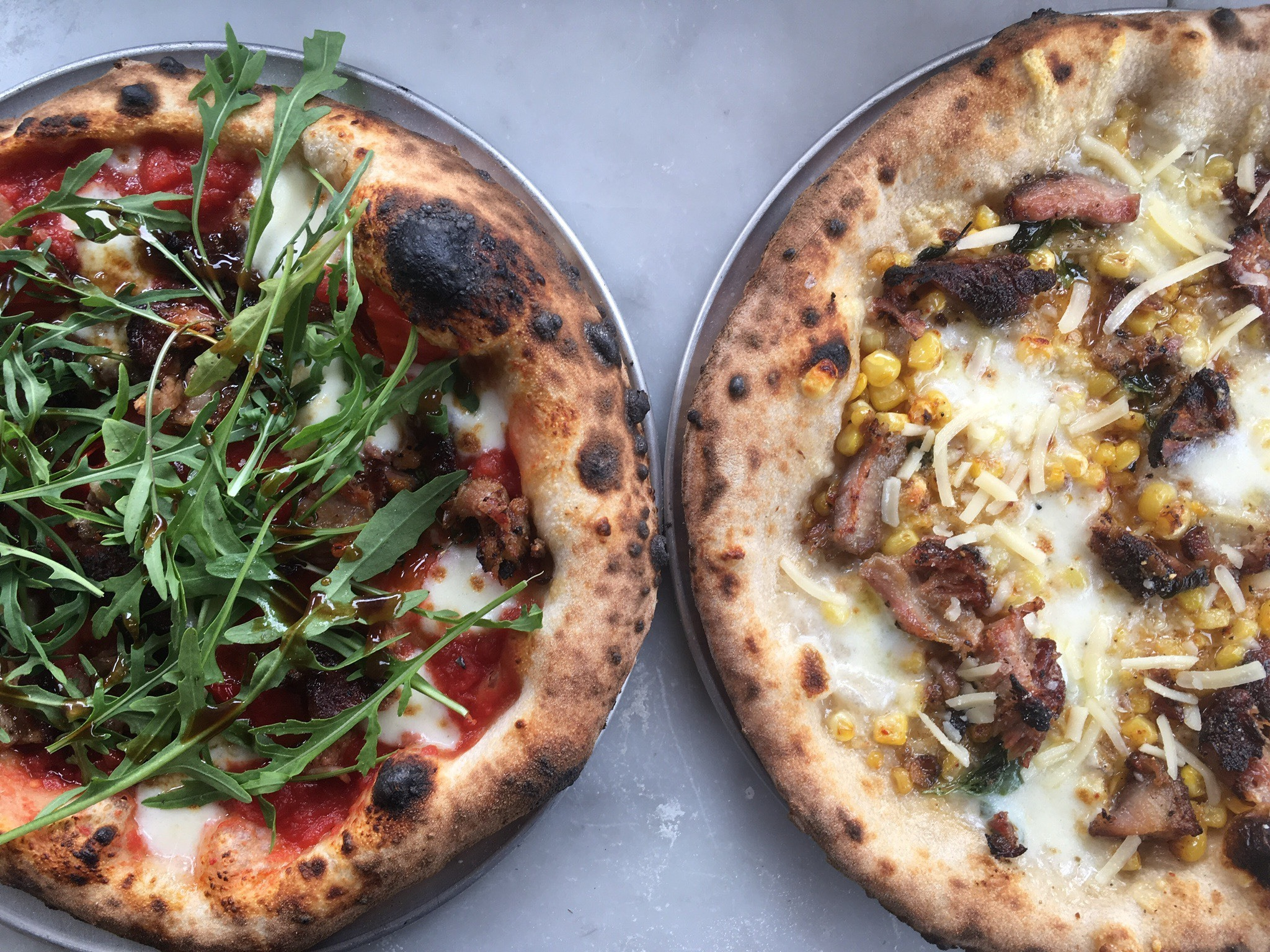 Killer Pizza Cart Gracie's Apizza Opens its Restaurant in St. Johns Thursday [Updated]