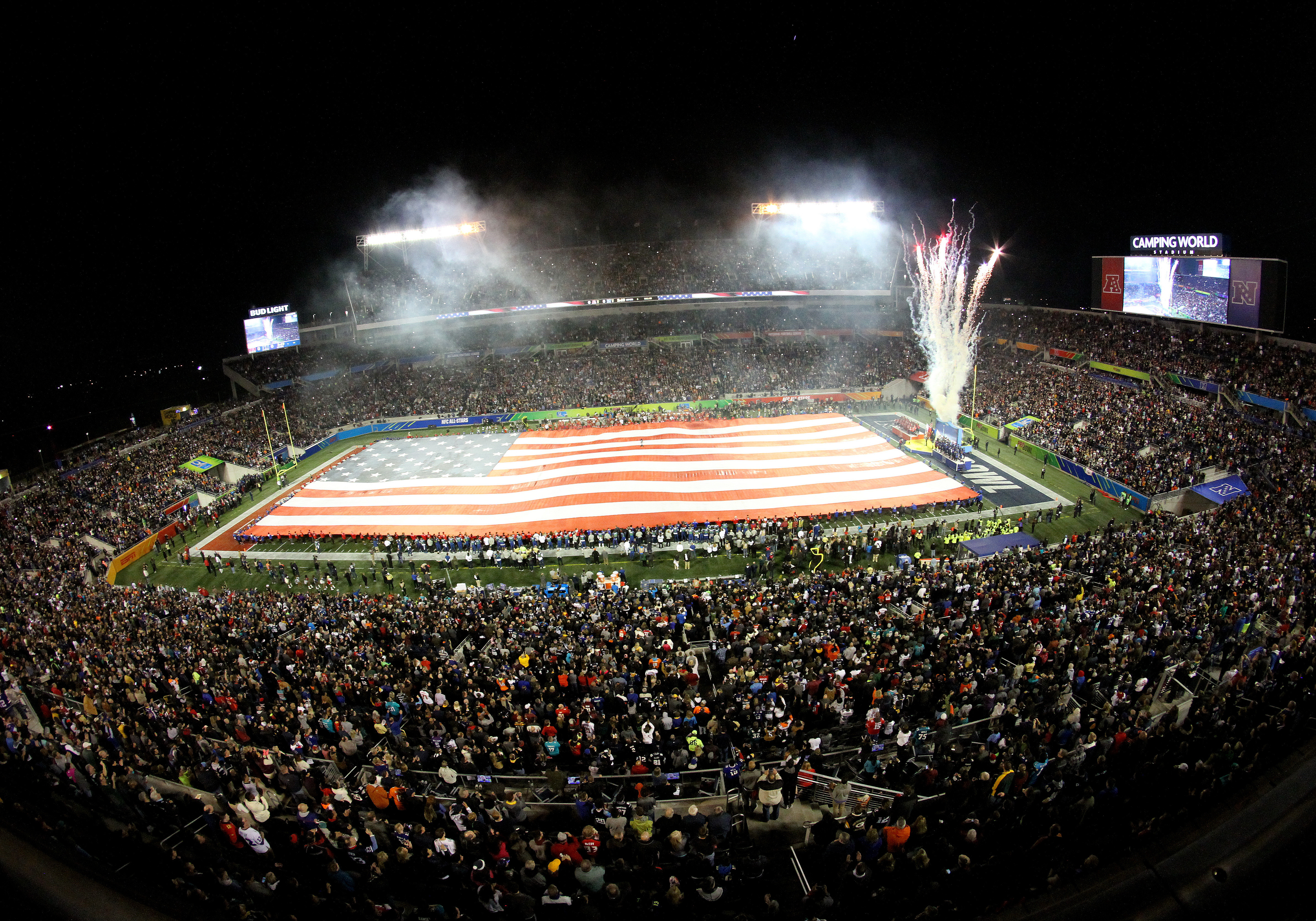 NFL: JAN 29 AFCNFC Pro Bowl