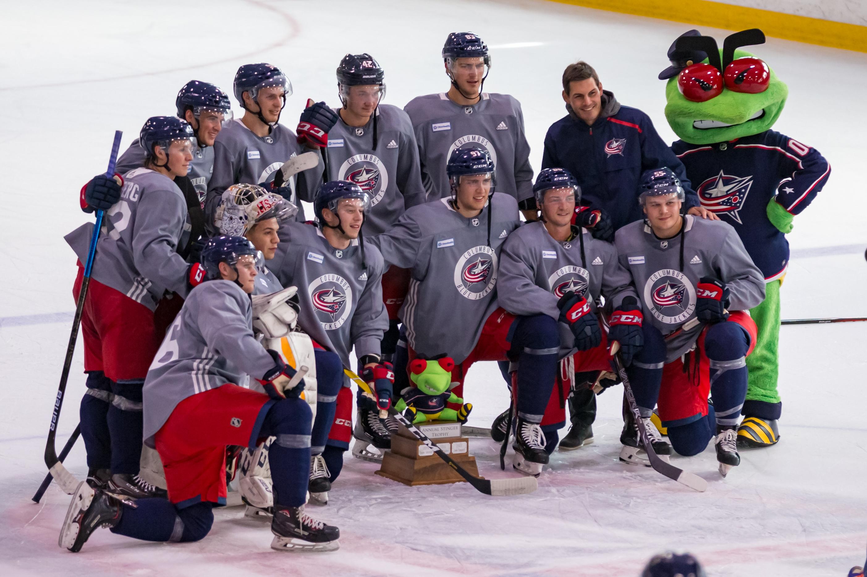 NHL: JUN 28 Columbus Blue Jackets Development Camp