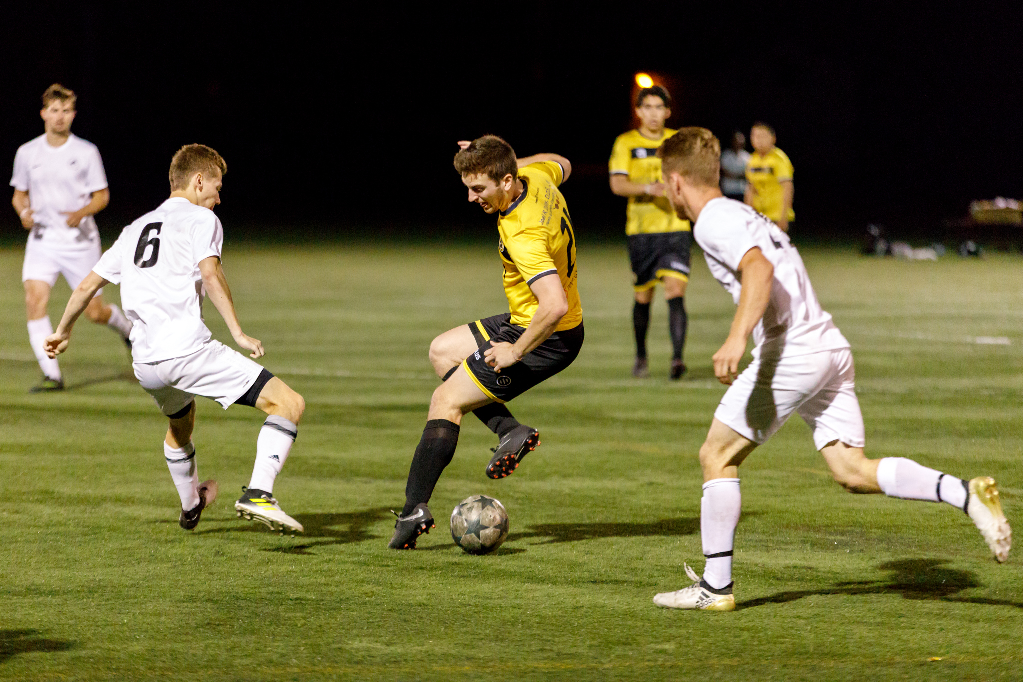 May 22, 2018 - Saint Paul, Minnesota, United States -  Dynamo FC Saint Cloud defeated River City FC 1-0 in a match played at McMurray Fields.   (Photo by Seth Steffenhagen/Steffenhagen Photography)