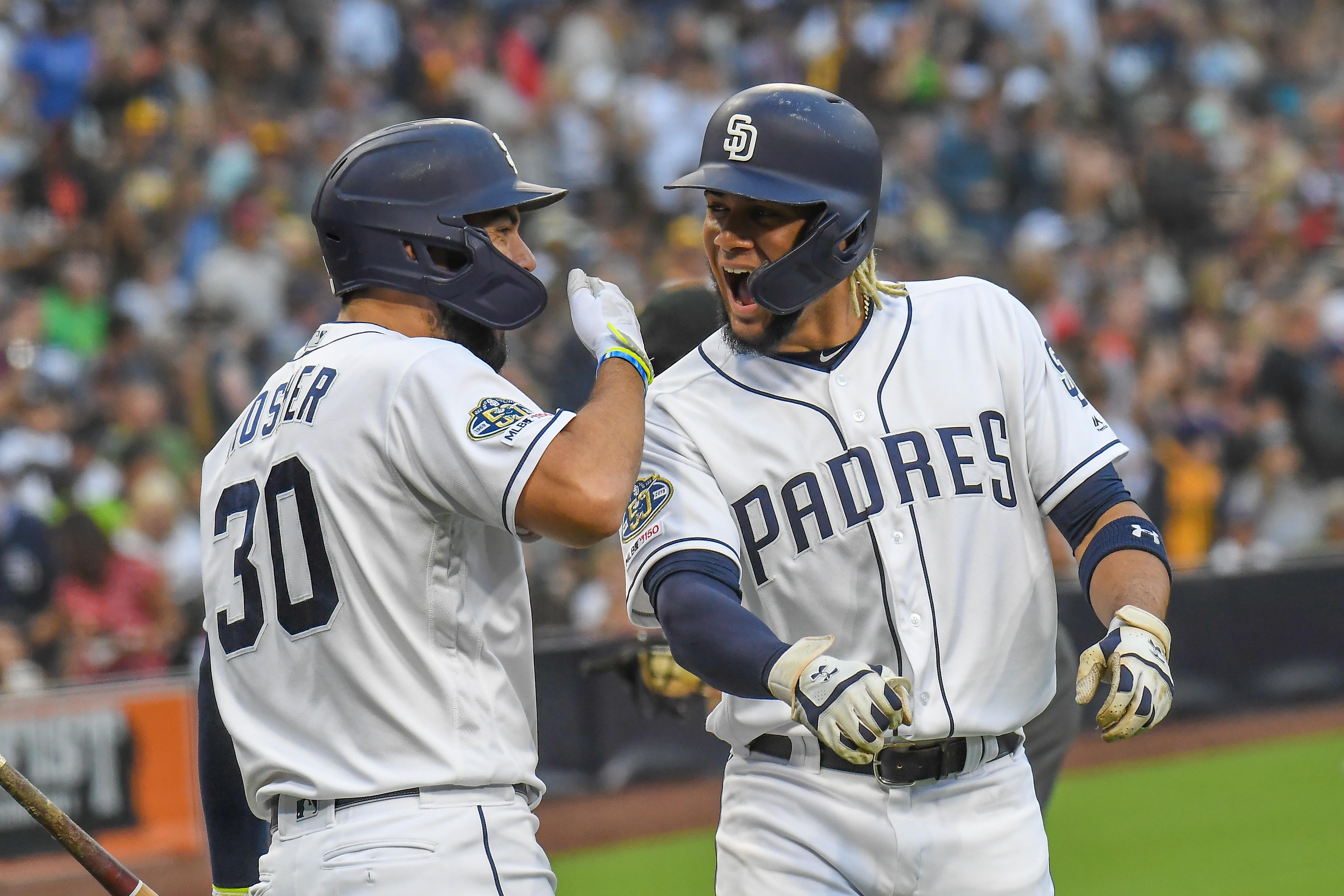 MLB: JUL 03 Giants at Padres