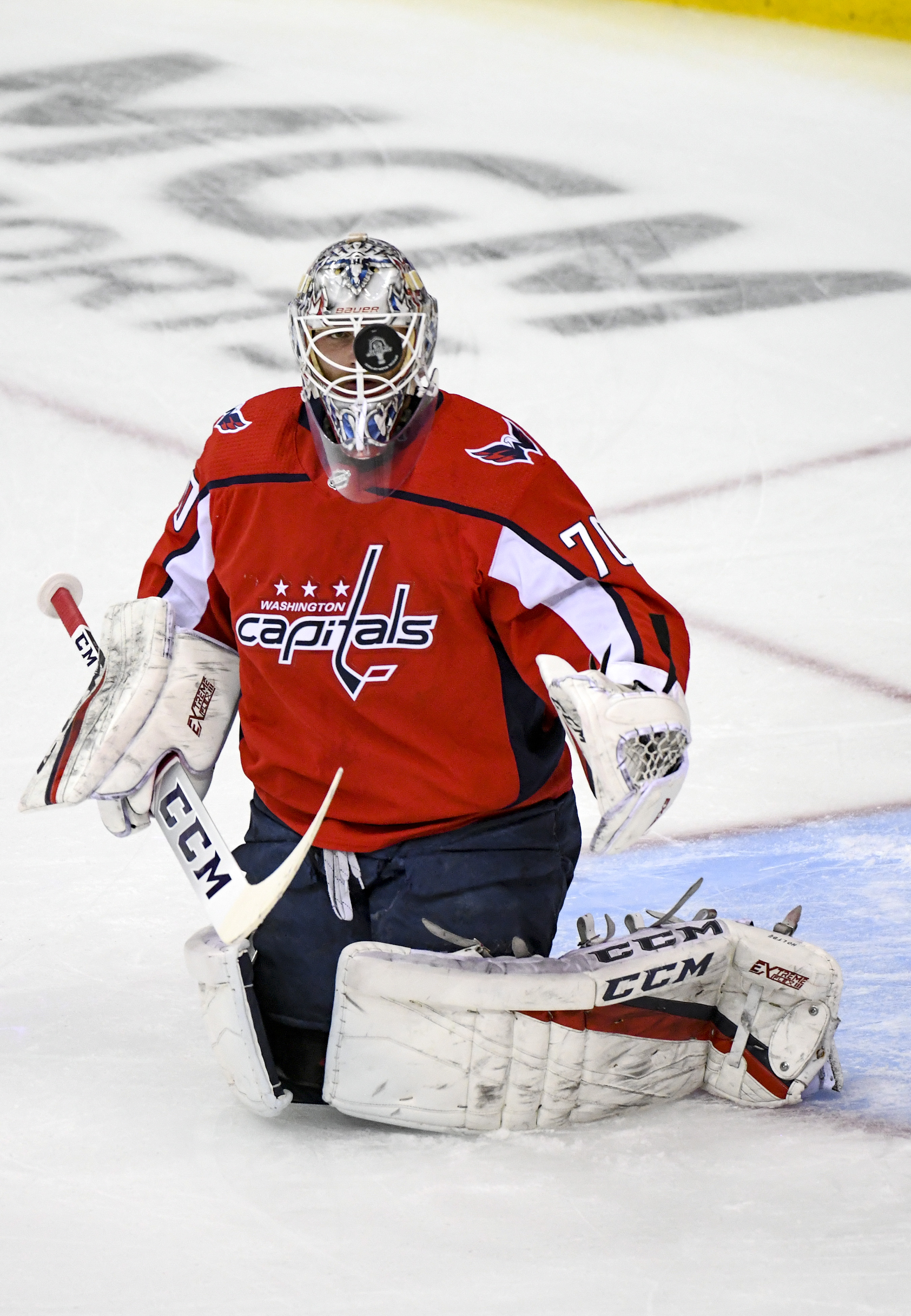 NHL: APR 24 Stanley Cup Playoffs First Round - Hurricanes at Capitals