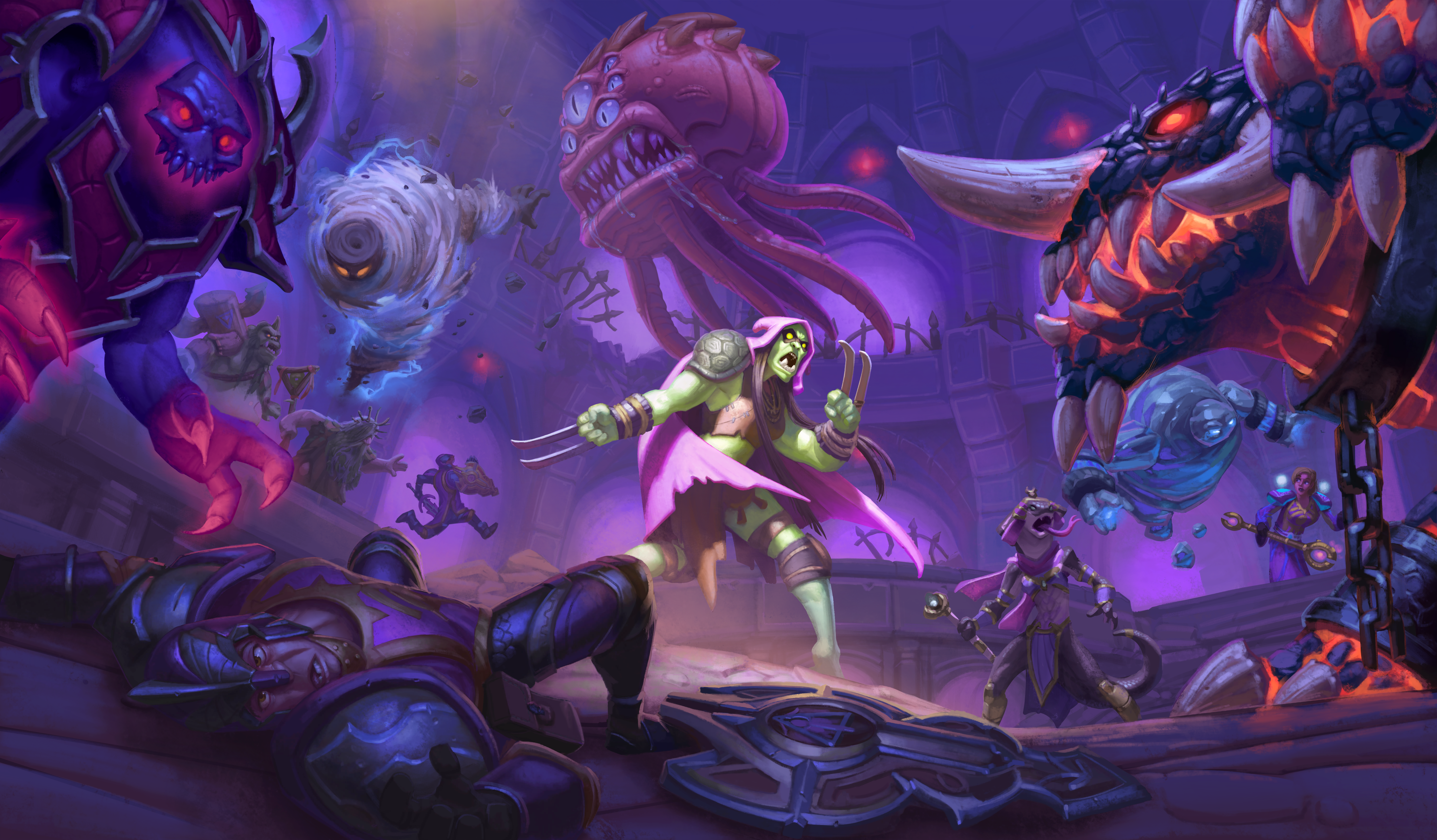 Hearthstone's single-player content saved the game for me