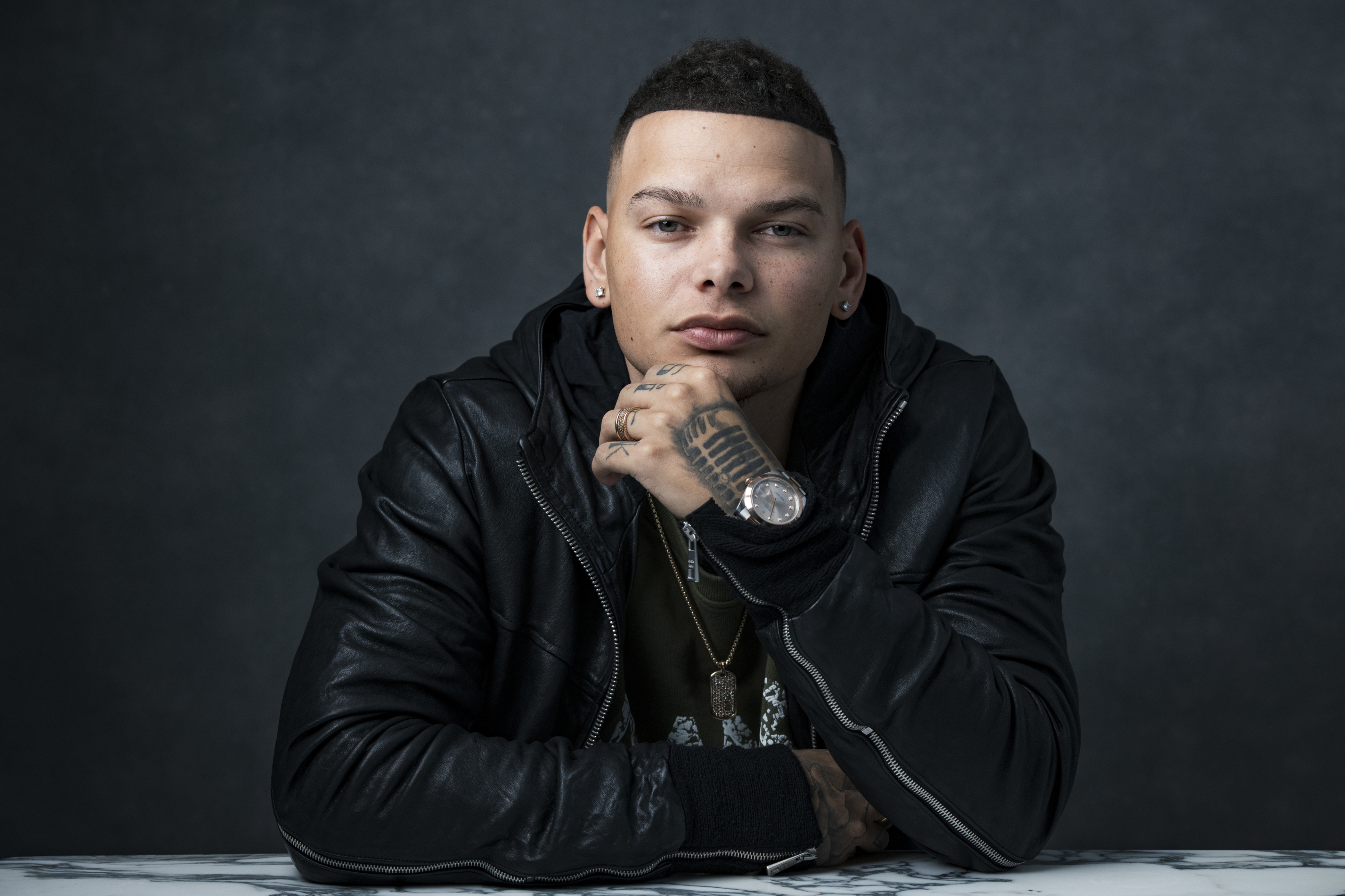 In this Nov. 7, 2018 file photo, country singer Kane Brown poses for a portrait in New York.